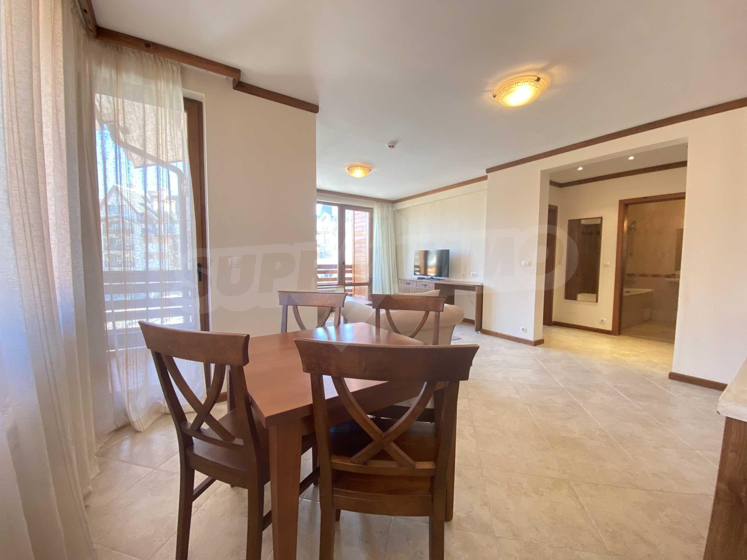 Обзаведен двустаен апартамент в луксозен СПА комплекс в Банско 3