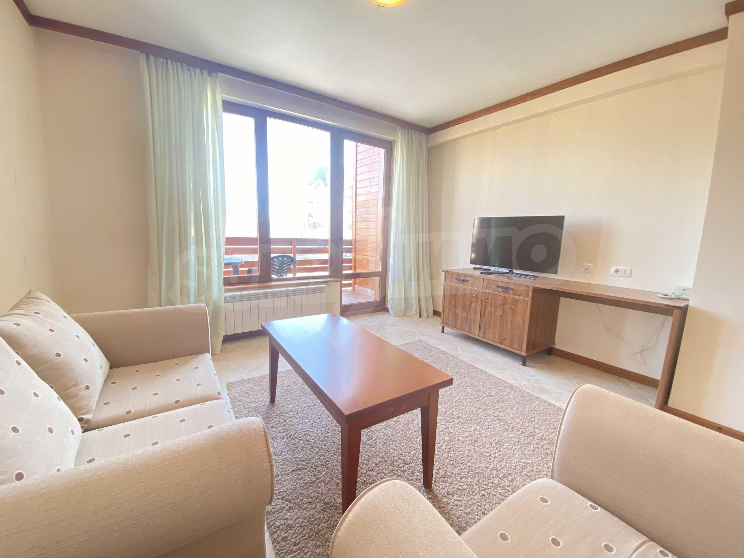 Обзаведен двустаен апартамент в луксозен СПА комплекс в Банско 4