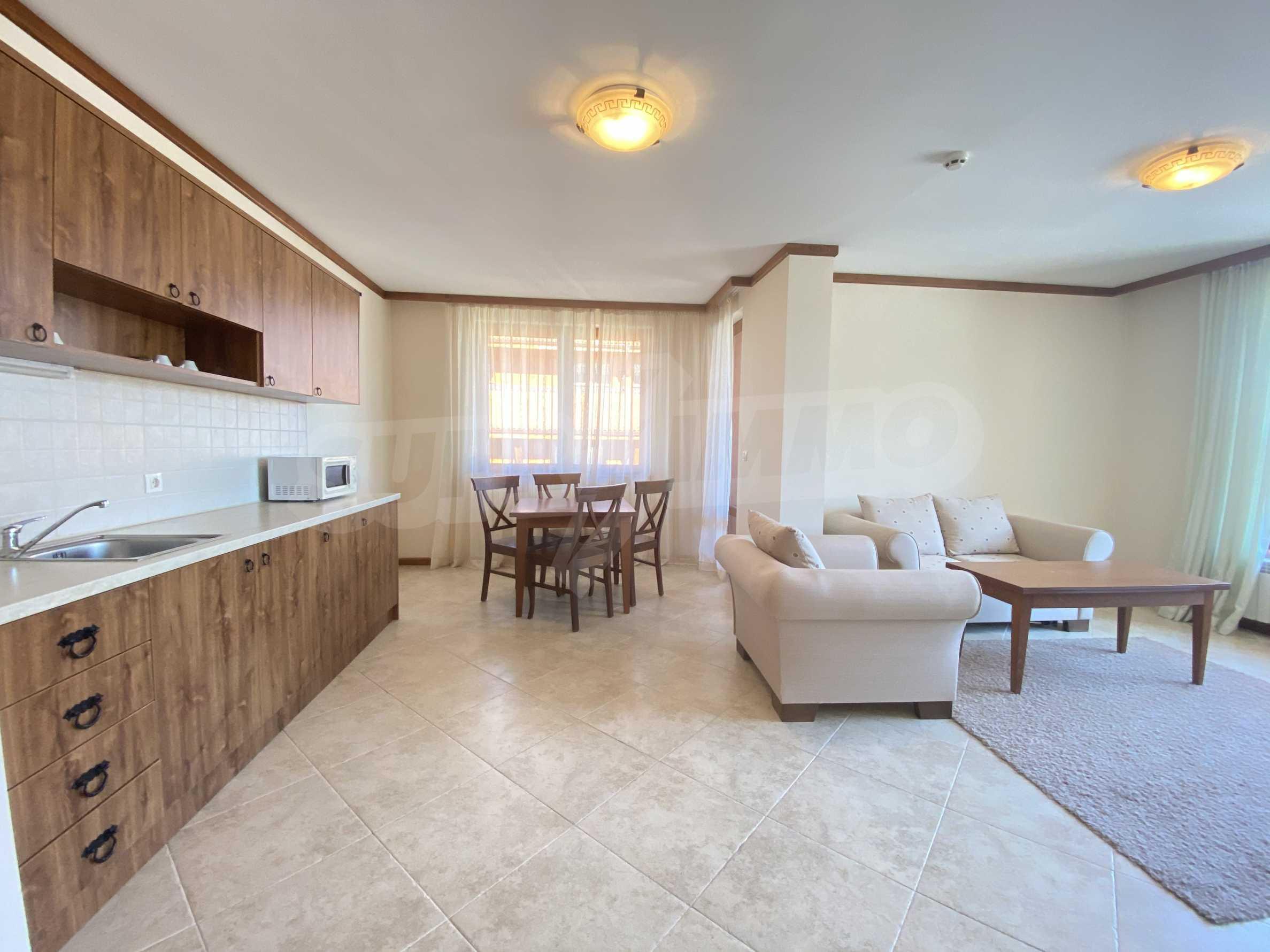 Обзаведен двустаен апартамент в луксозен СПА комплекс в Банско 5