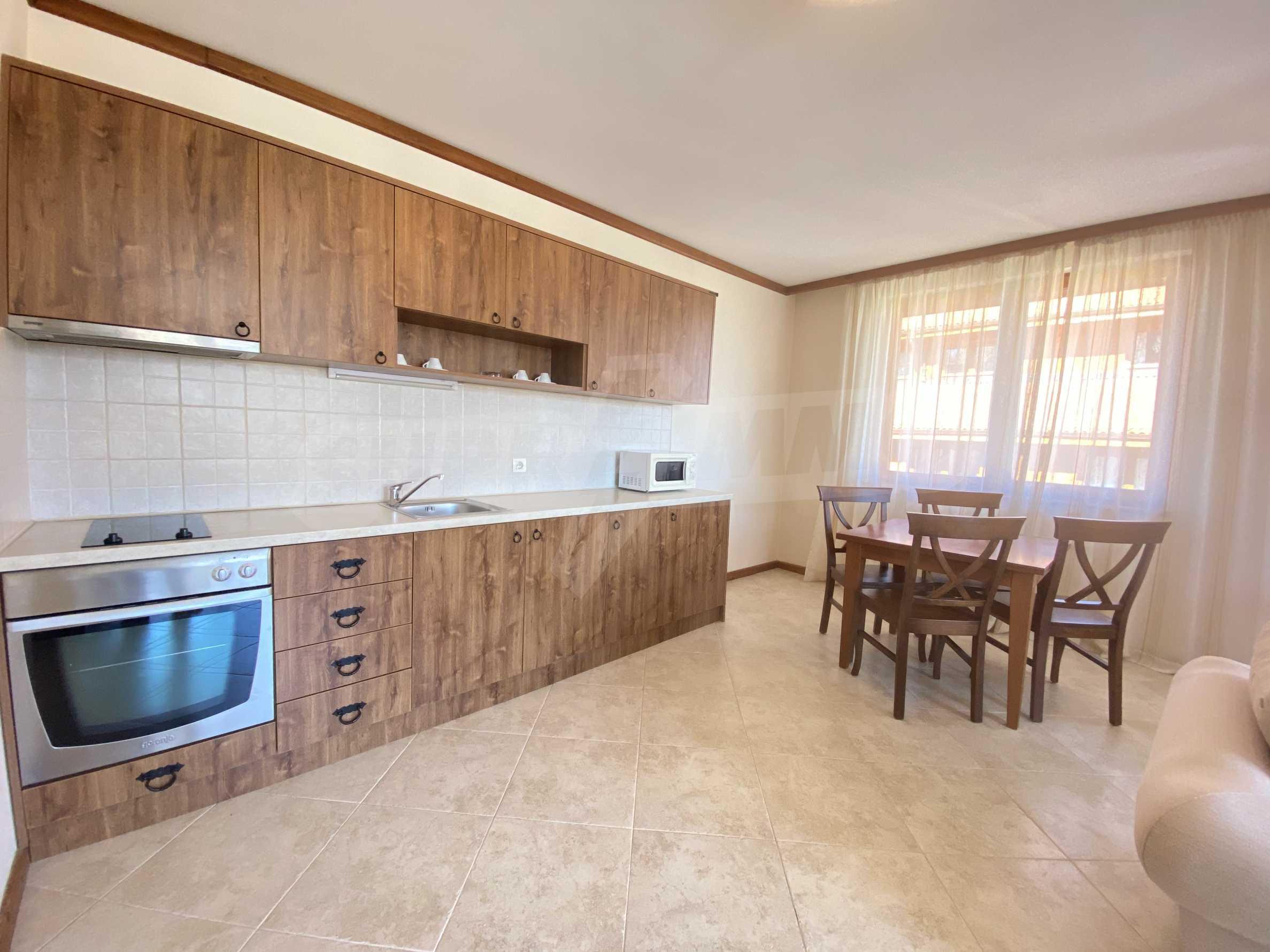 Обзаведен двустаен апартамент в луксозен СПА комплекс в Банско 6