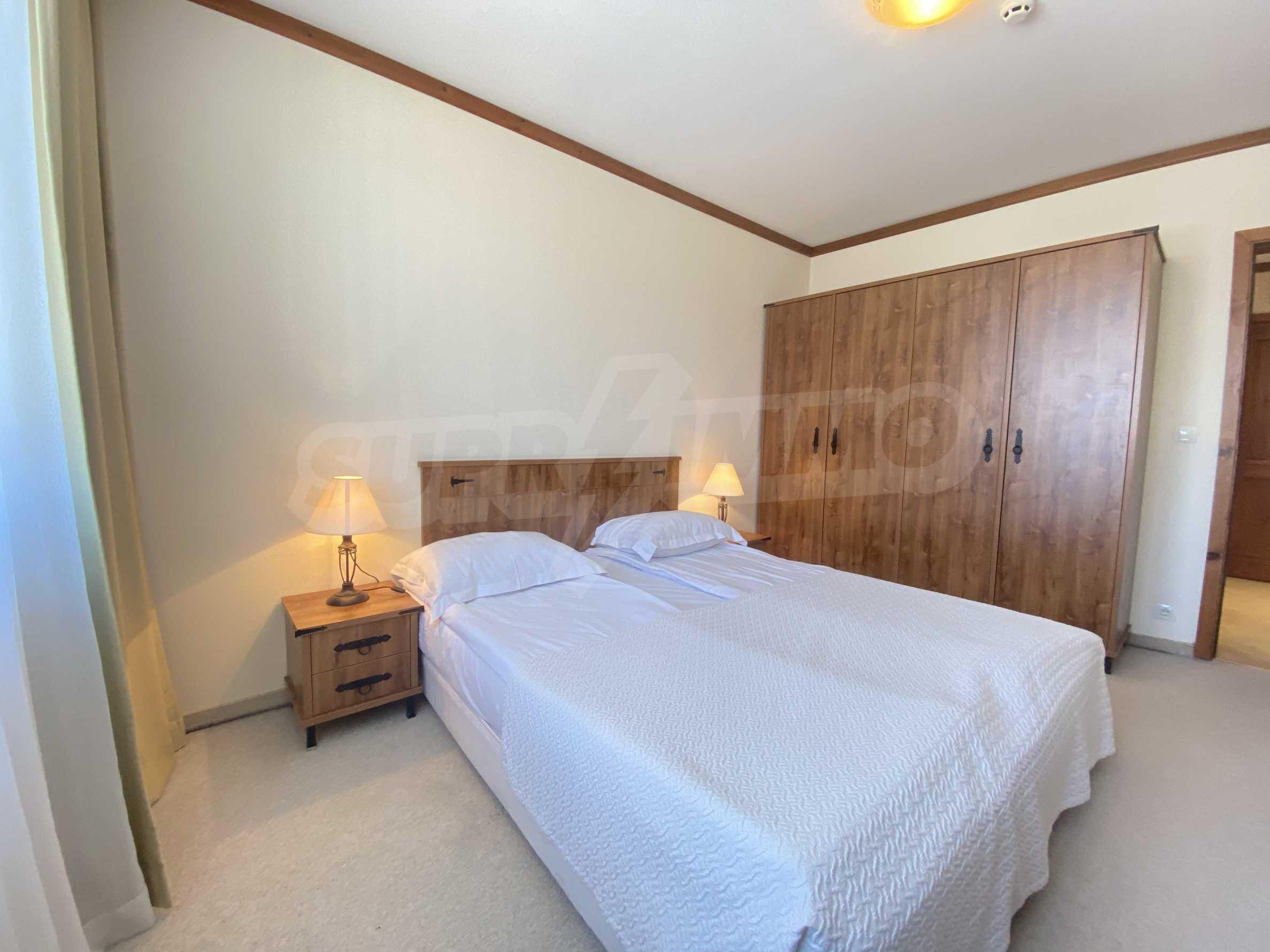 Обзаведен двустаен апартамент в луксозен СПА комплекс в Банско 9