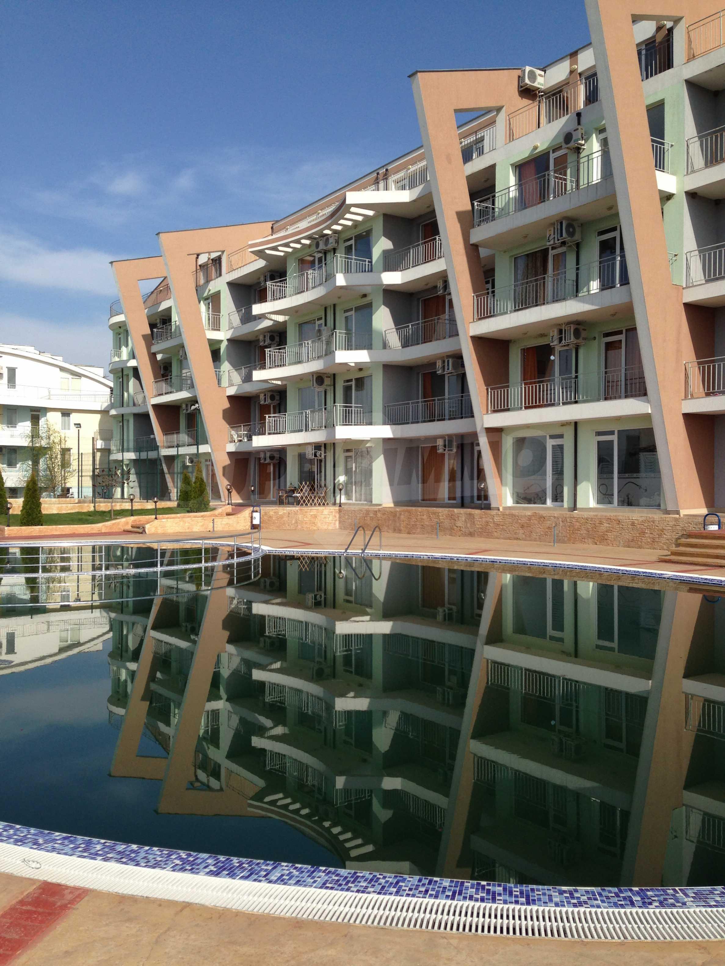 Apartment mit 1 Schlafzimmer in der Nähe von Sonnenstrand 16
