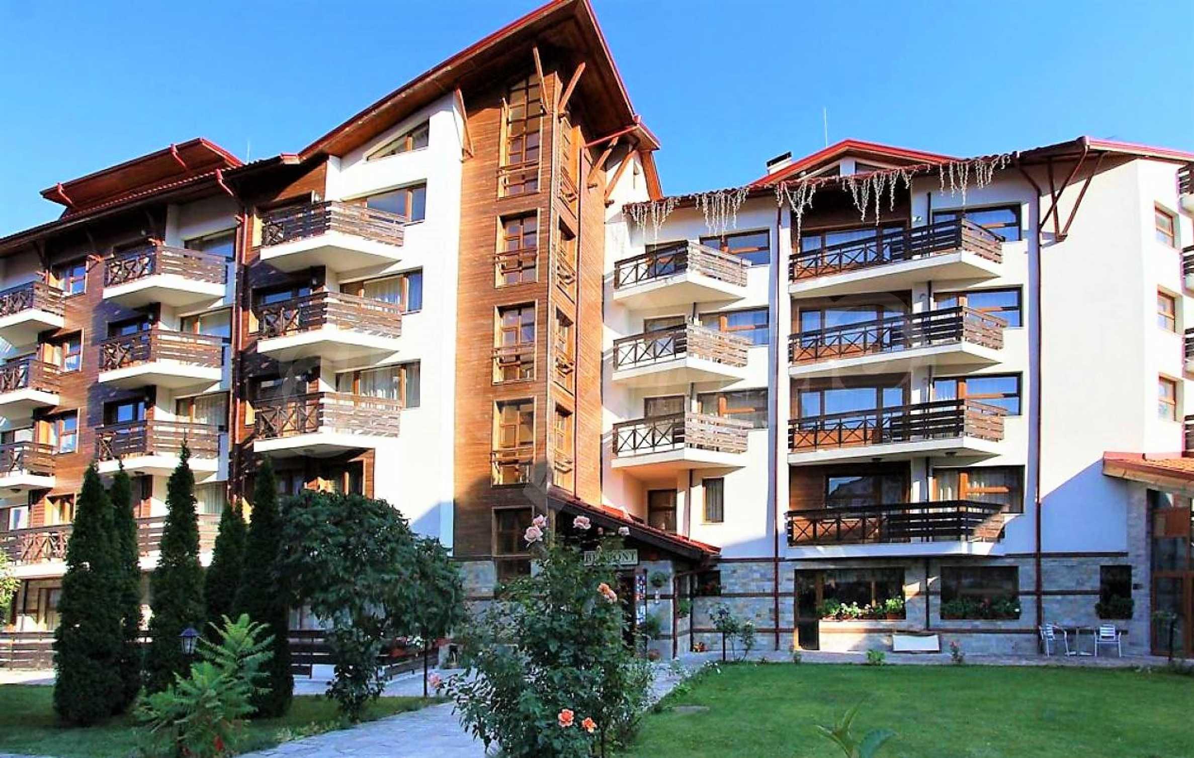 Apartment mit einem Schlafzimmer in einem Elitekomplex in Bansko