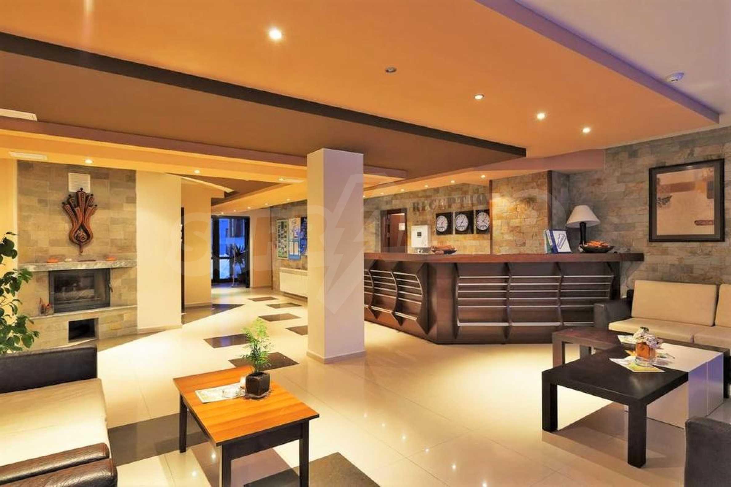 Apartment mit einem Schlafzimmer in einem Elitekomplex in Bansko 2