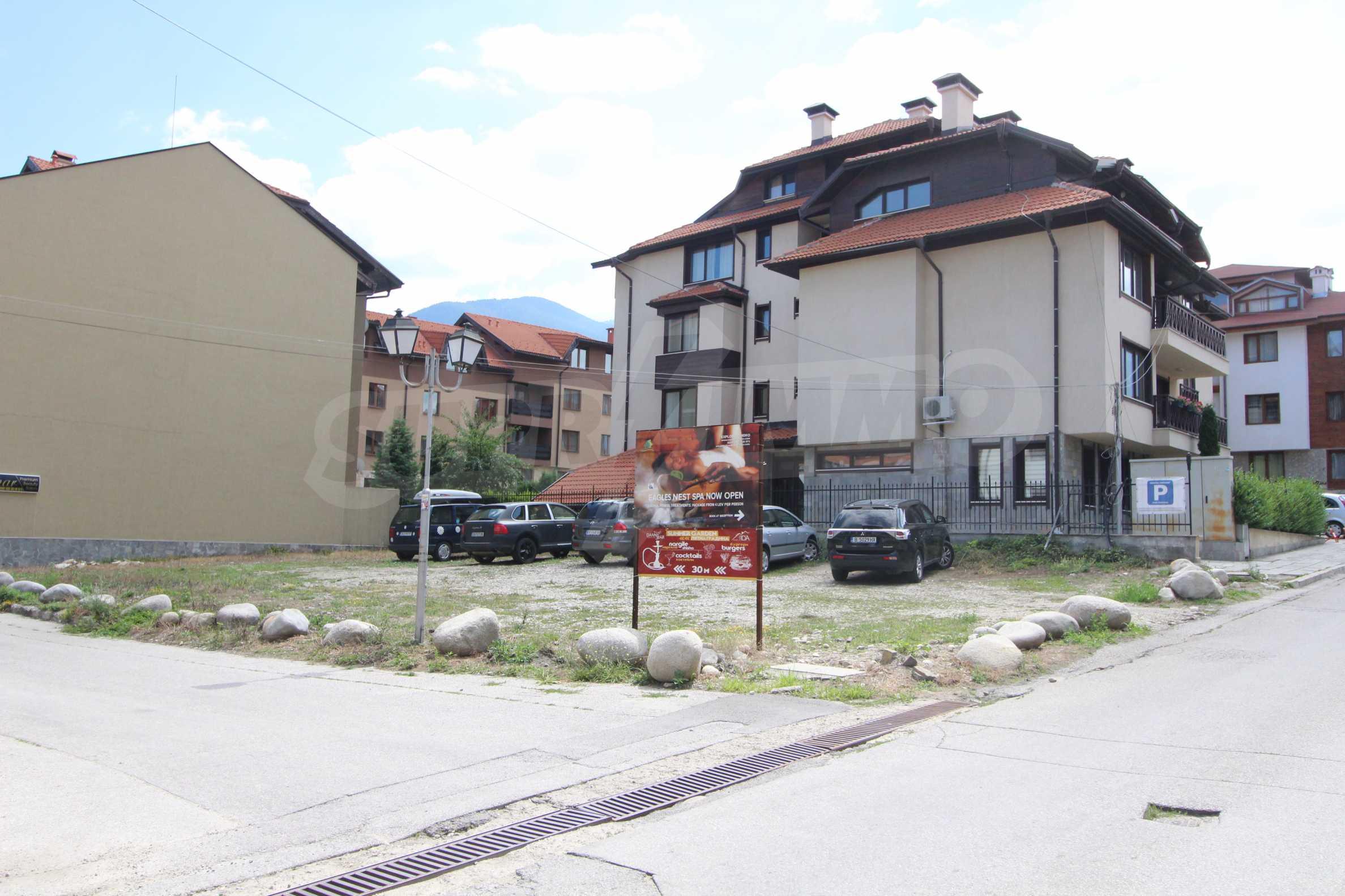 Регулиран парцел в град Банско, на 500 м от Кабинковия лифт 4