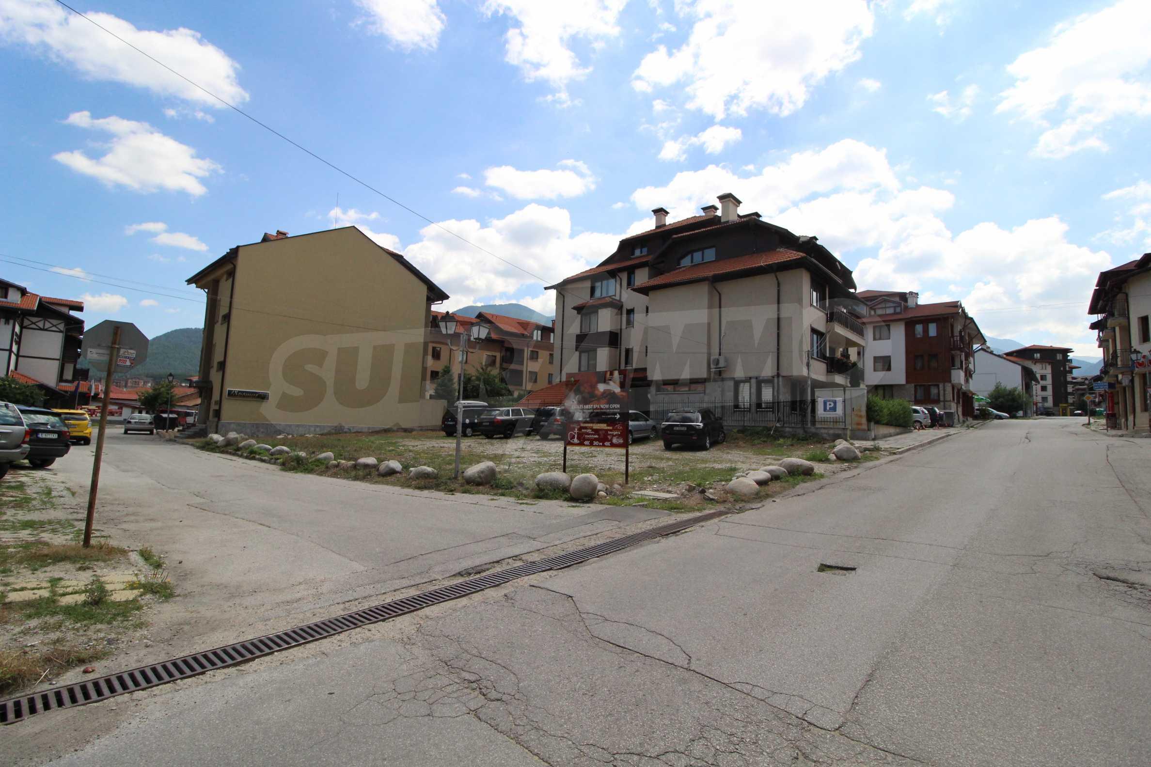 Регулиран парцел в град Банско, на 500 м от Кабинковия лифт 5