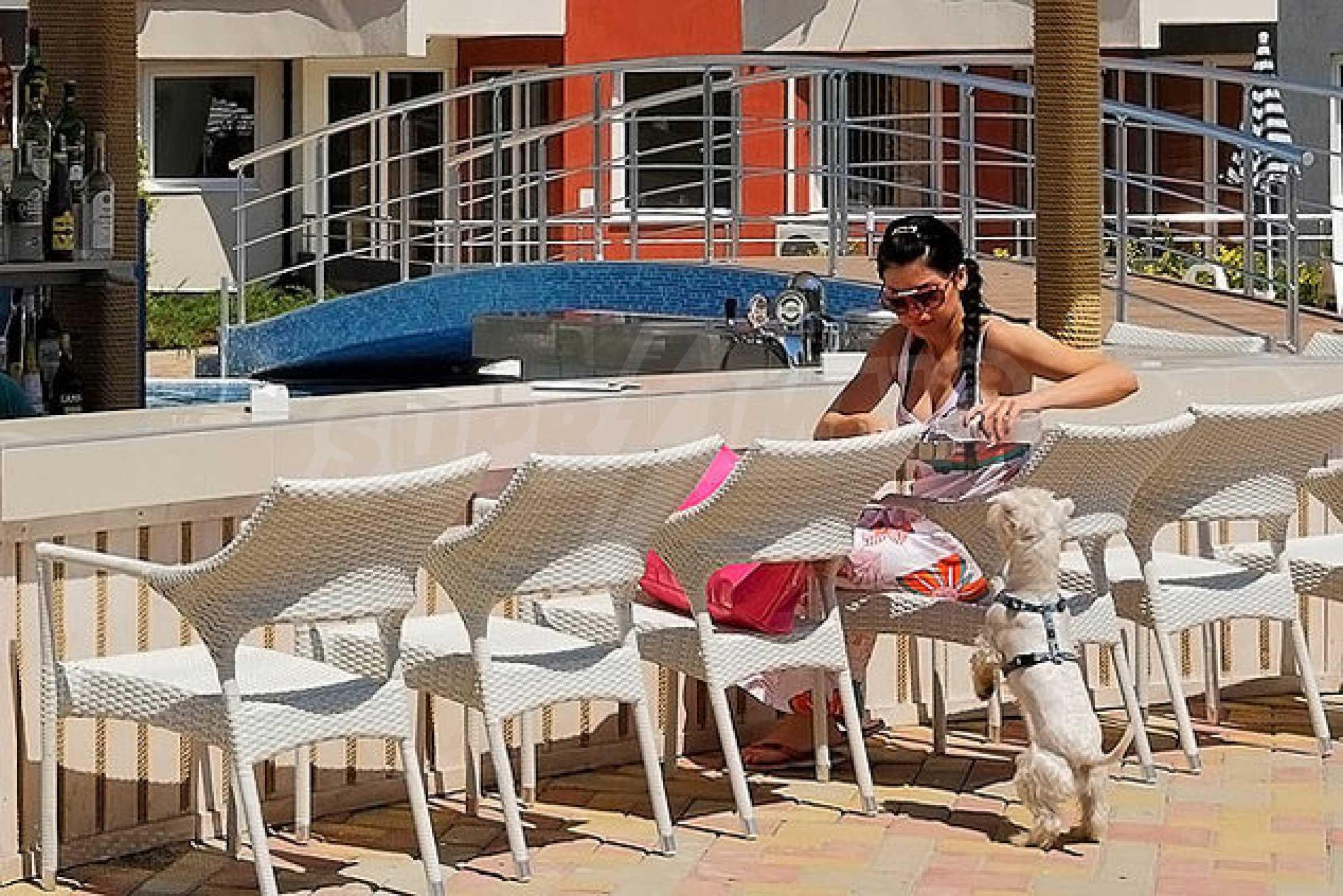 Einrichtung mit Restaurant, Bar und Pool-Bar im Meer-Kurort Lozenets 13
