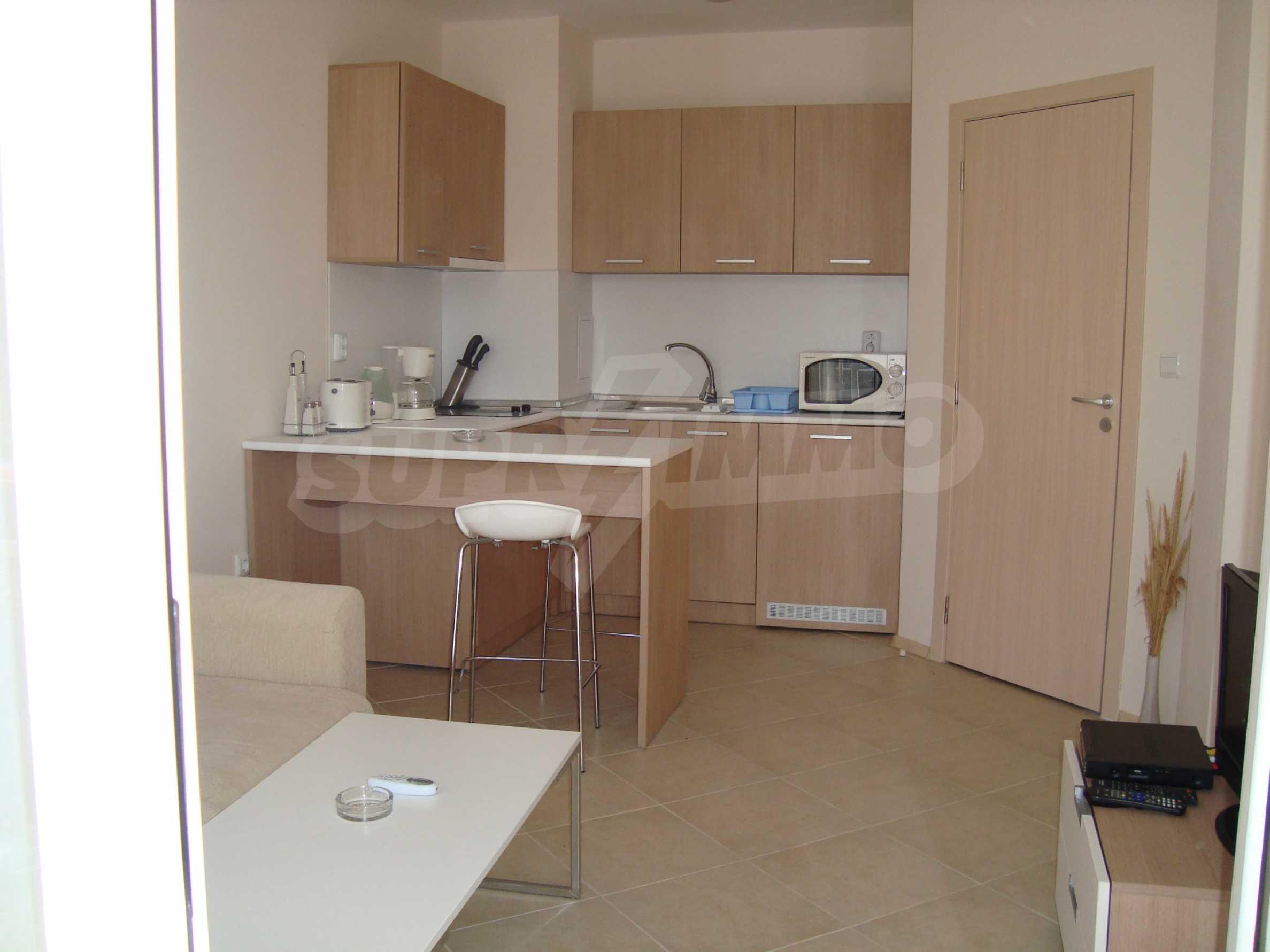 Apartment mit einem Schlafzimmer im Emberly-Komplex in Lozenets 1