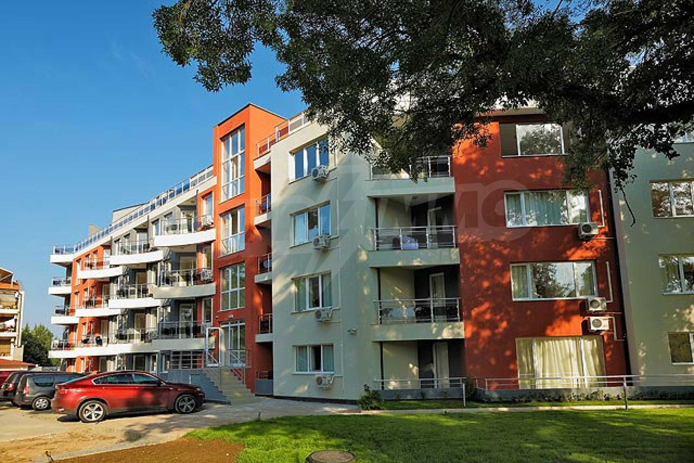 Apartment mit einem Schlafzimmer im Emberly-Komplex in Lozenets 17
