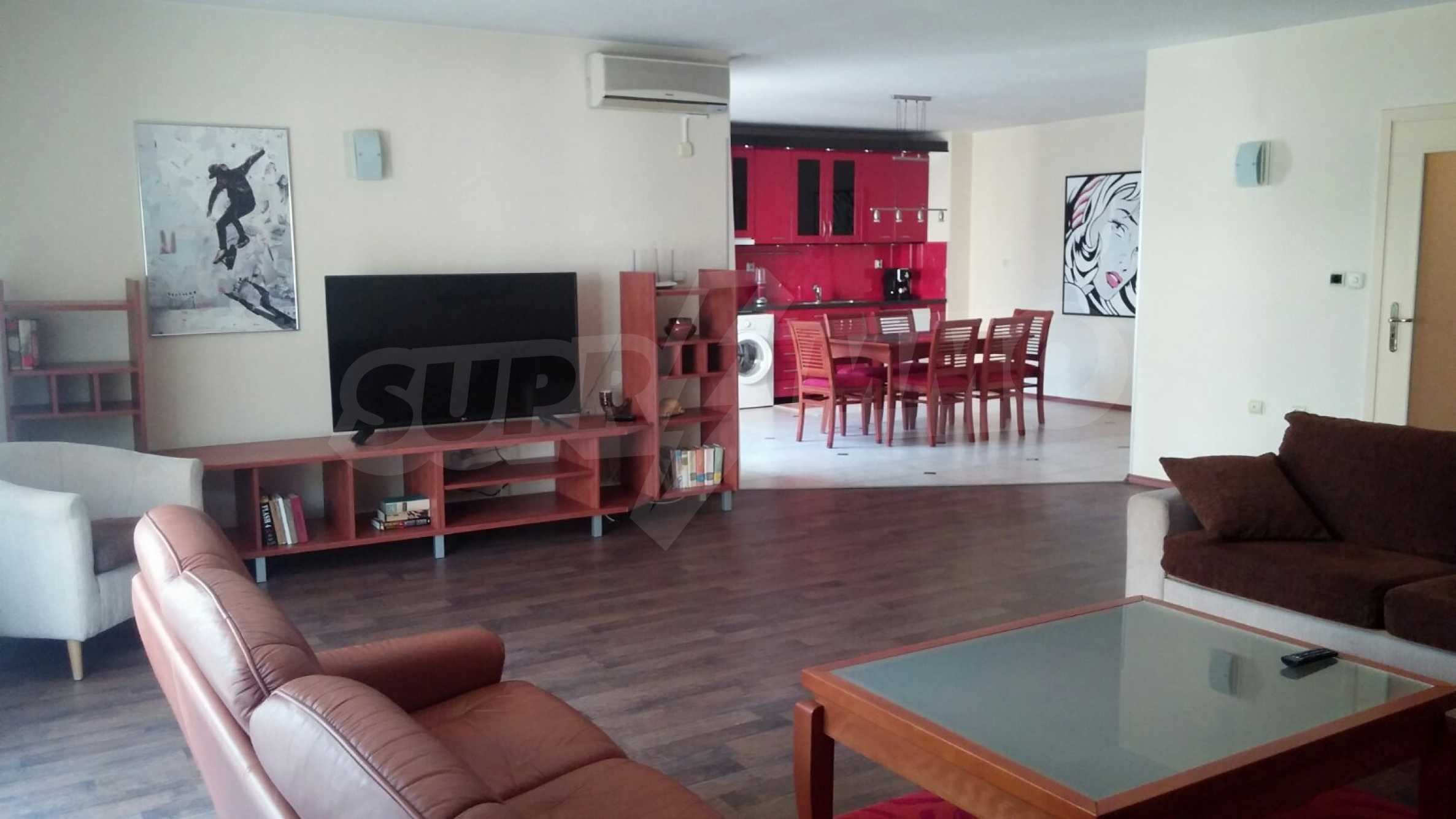 Spacious apartment in the city center