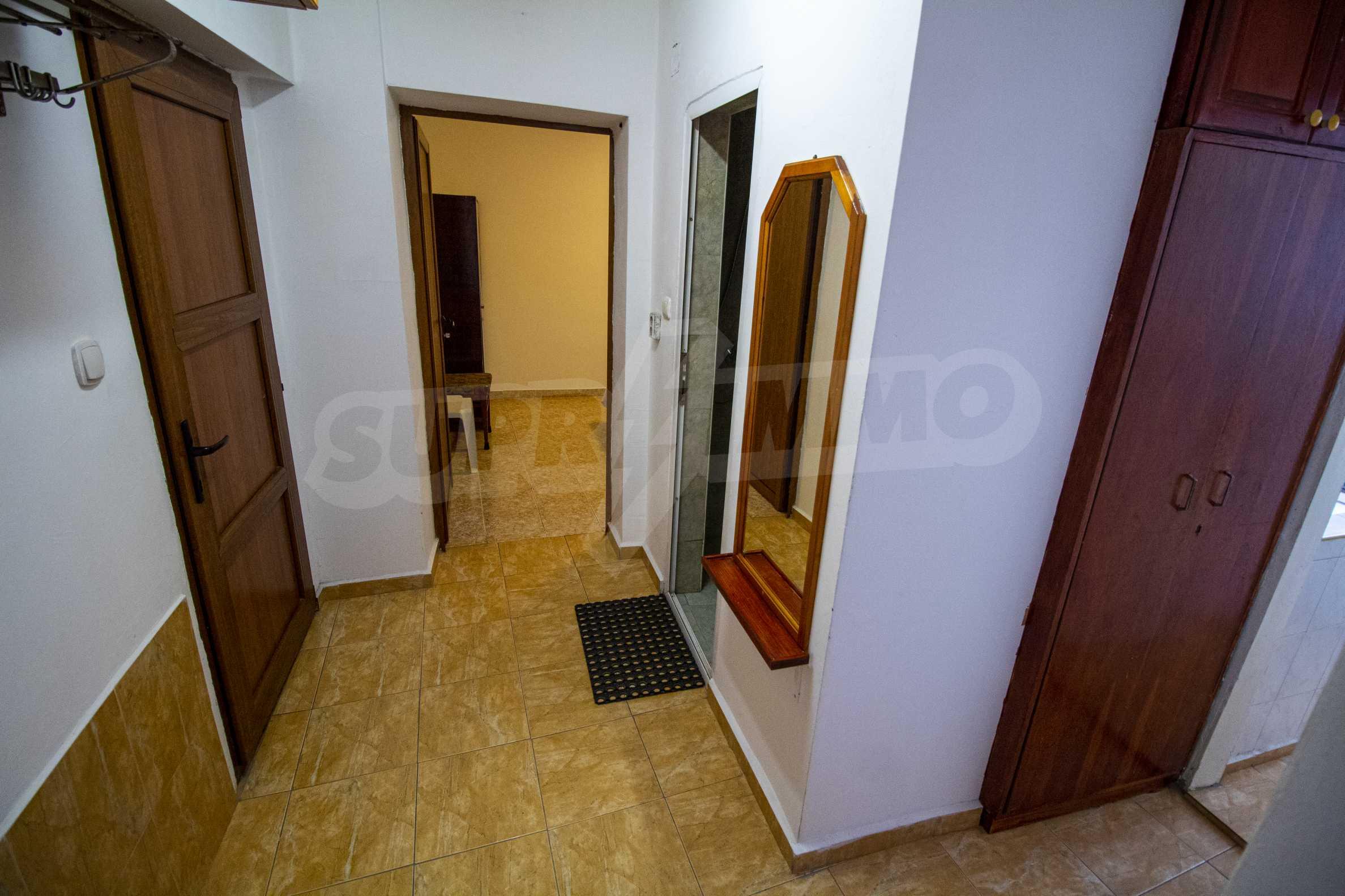 No maintenance fee. Two-bedroom apartment near the beach MMC Primorsko 2