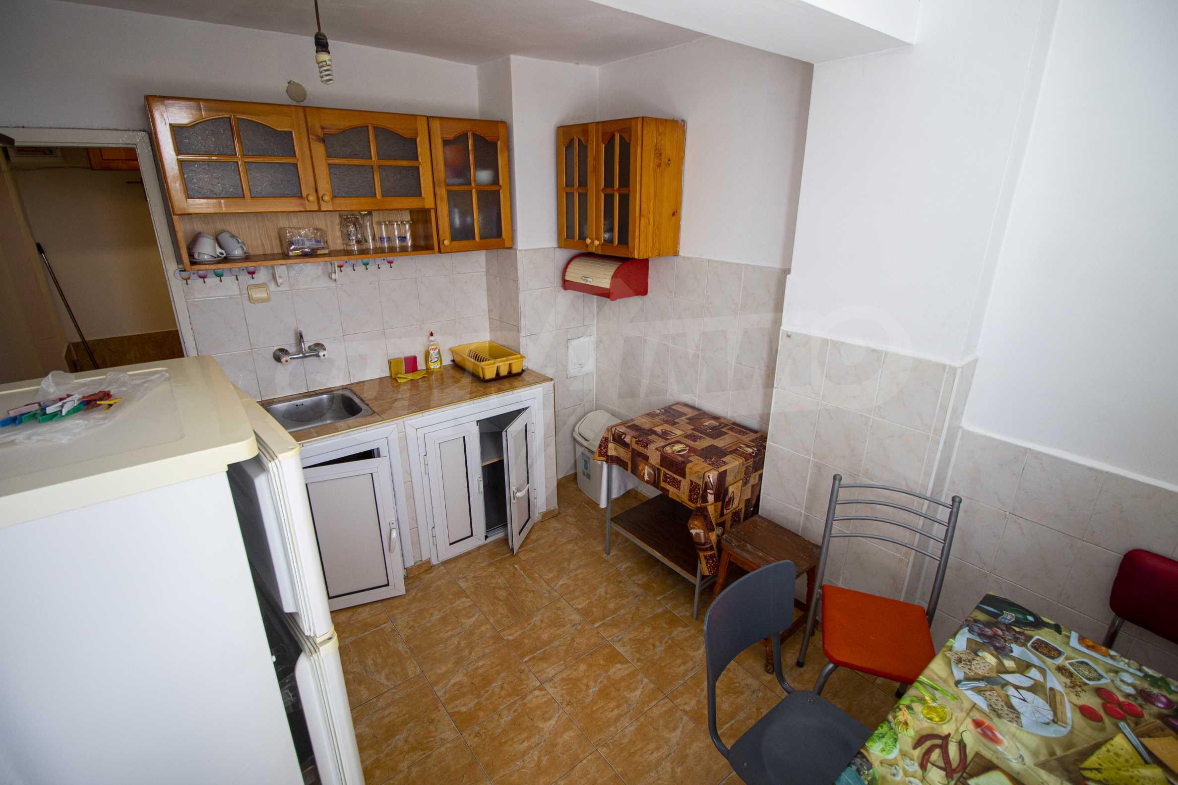 No maintenance fee. Two-bedroom apartment near the beach MMC Primorsko 3