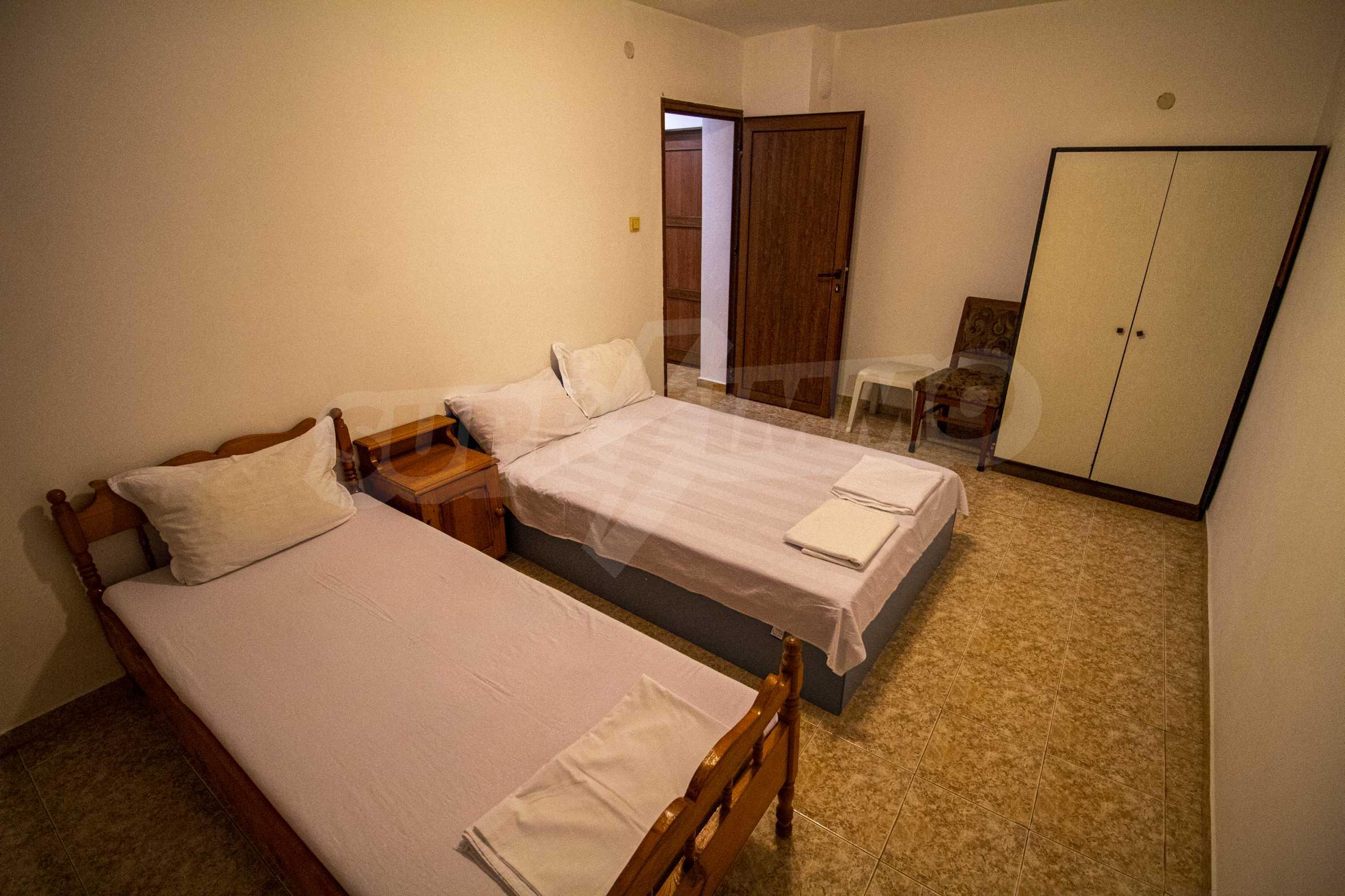 No maintenance fee. Two-bedroom apartment near the beach MMC Primorsko 4