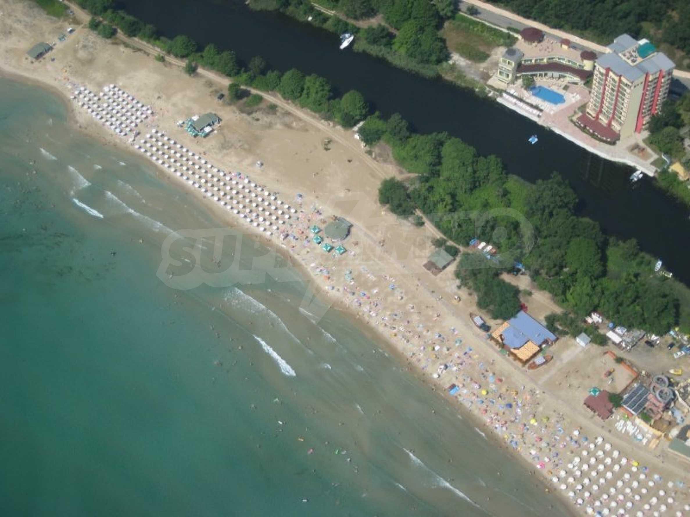 No maintenance fee. Two-bedroom apartment near the beach MMC Primorsko