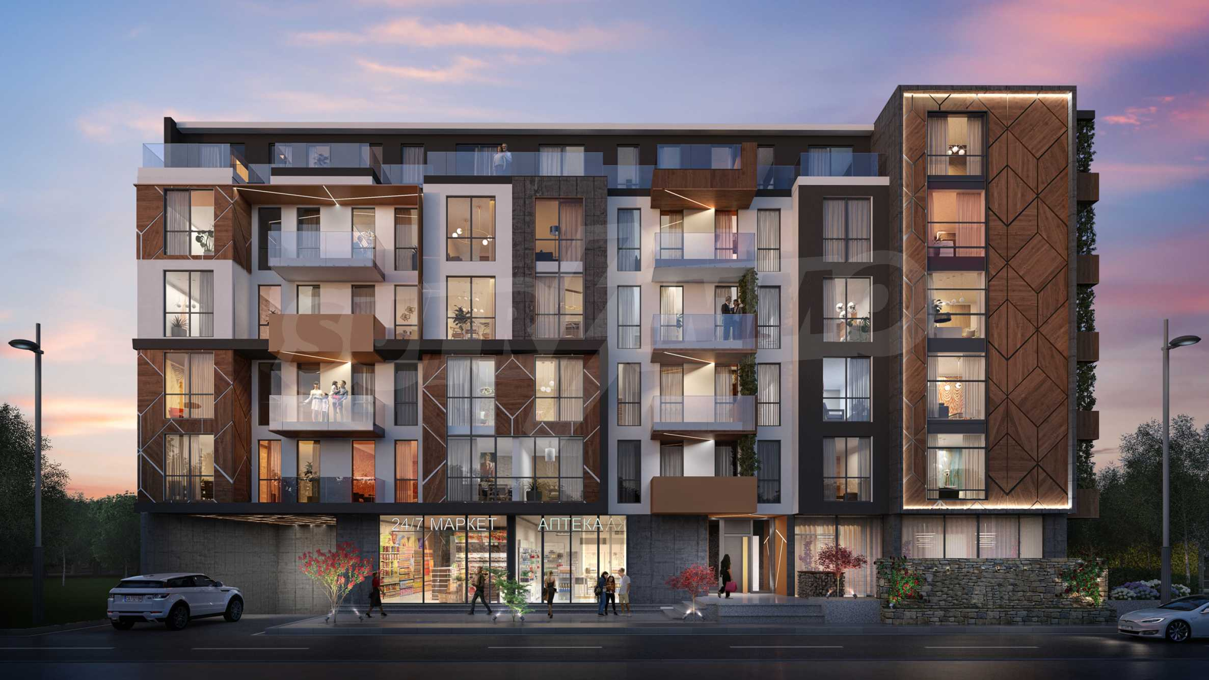 Exclusive complex in an excellent location near a future metro station