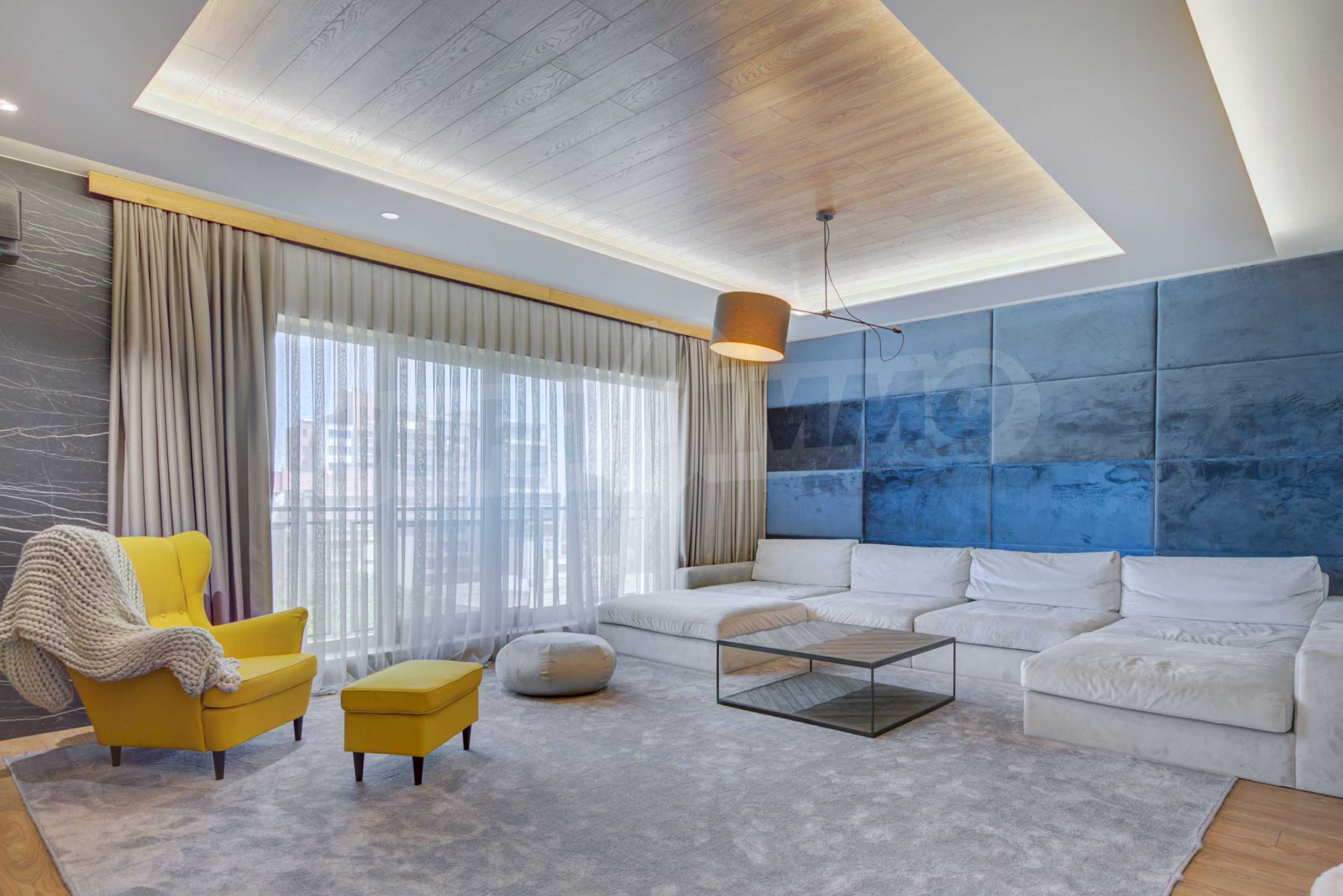 Дизайнерски обзаведен многостаен апартамент 1