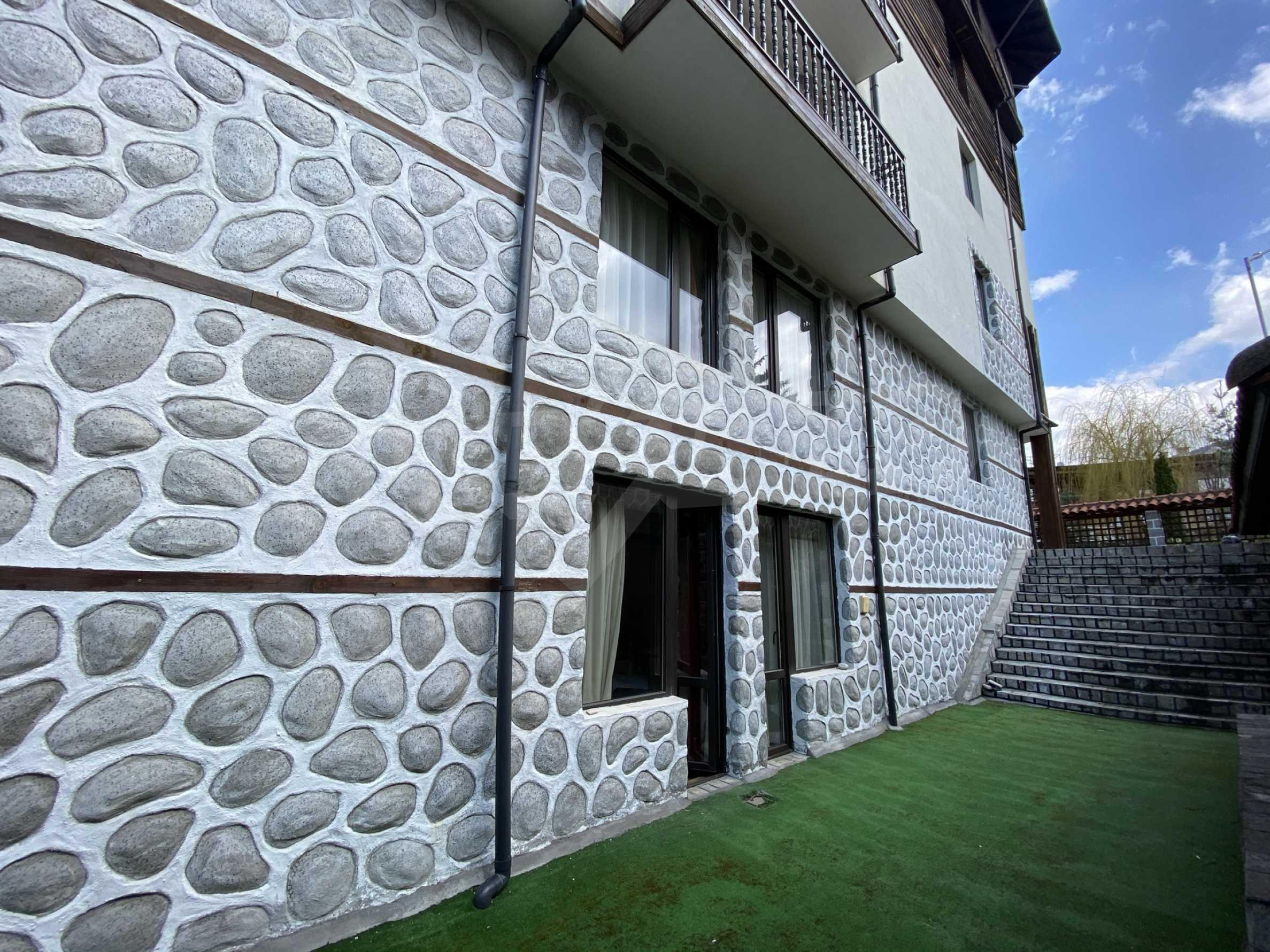 Обзаведен едностаен апартамент в затворен комплекс в Банско 4