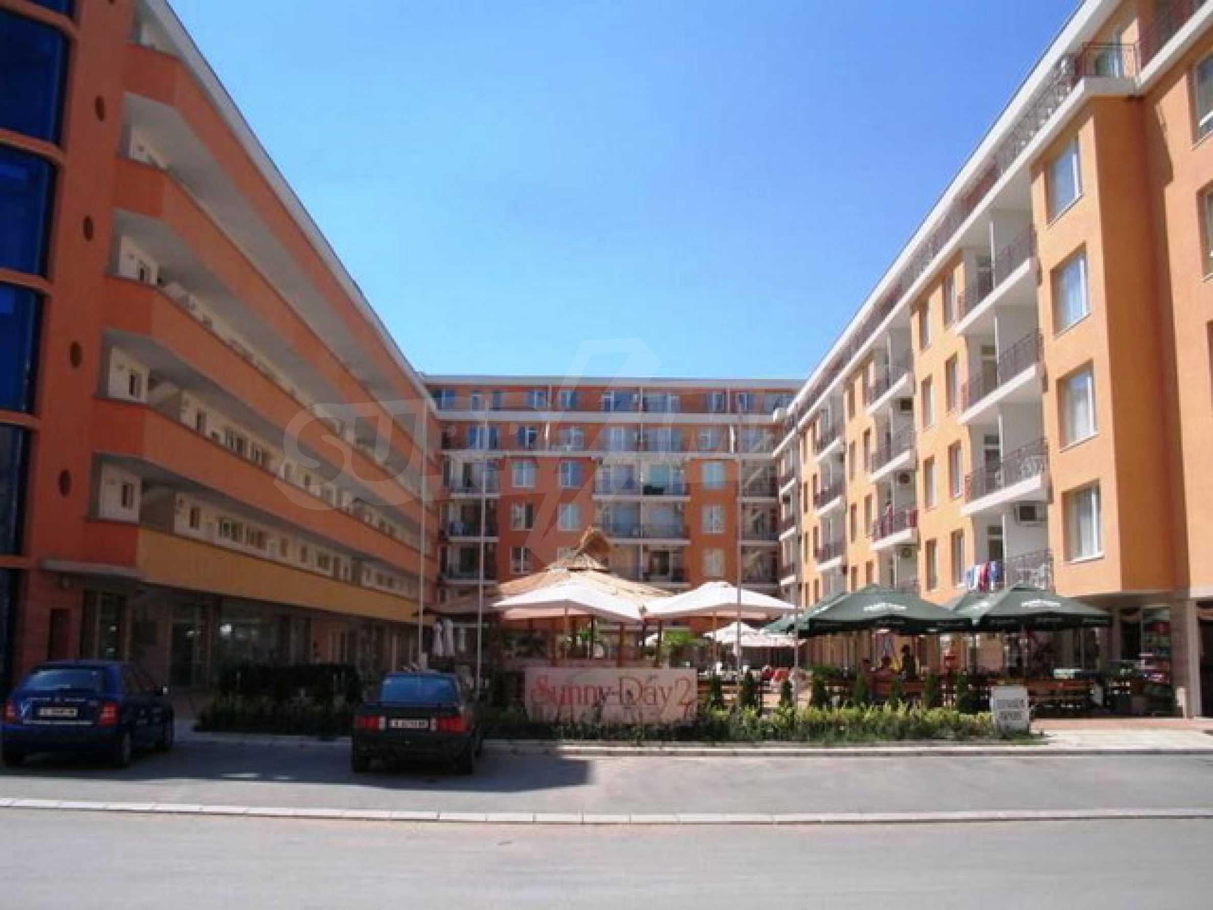 Трёхкомнатная квартира в комплексе Sunny Day 2 1