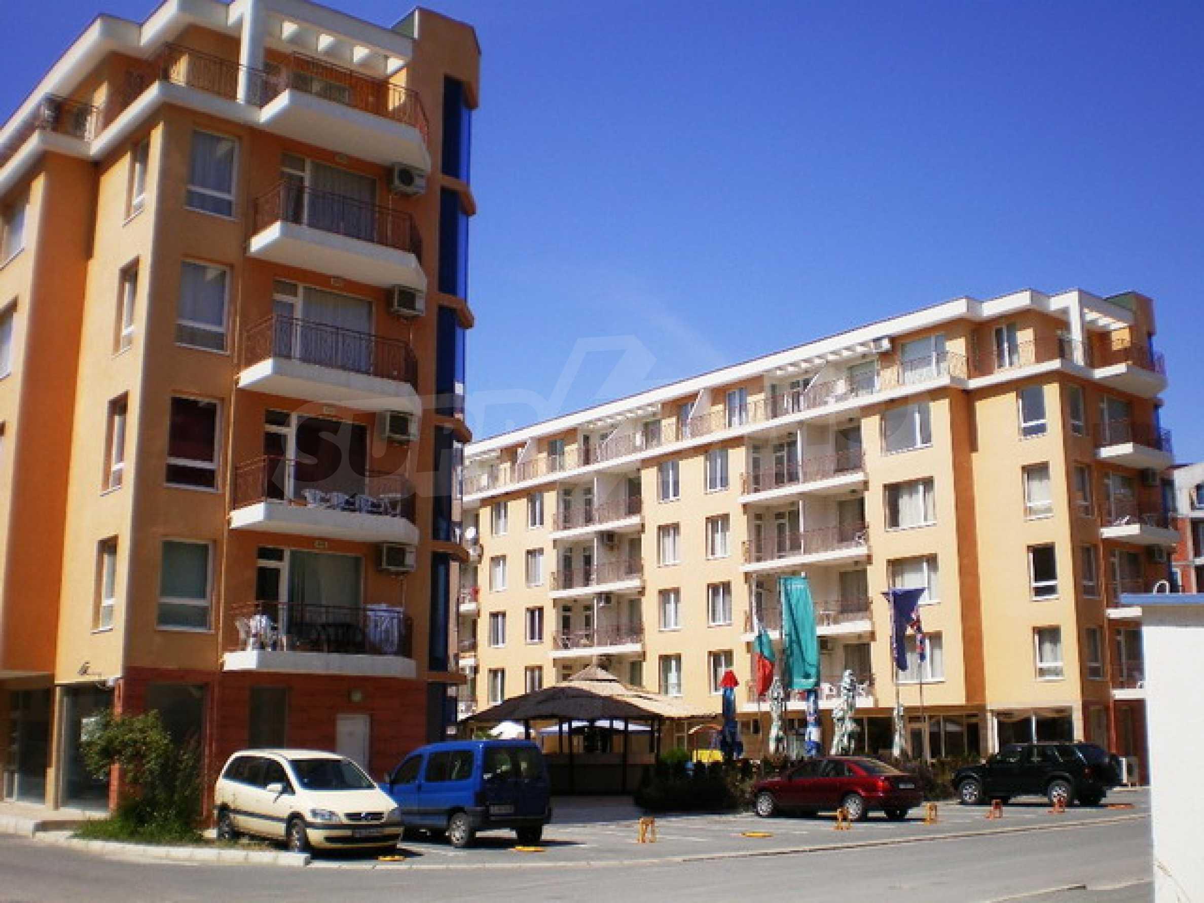 Трёхкомнатная квартира в комплексе Sunny Day 2 4