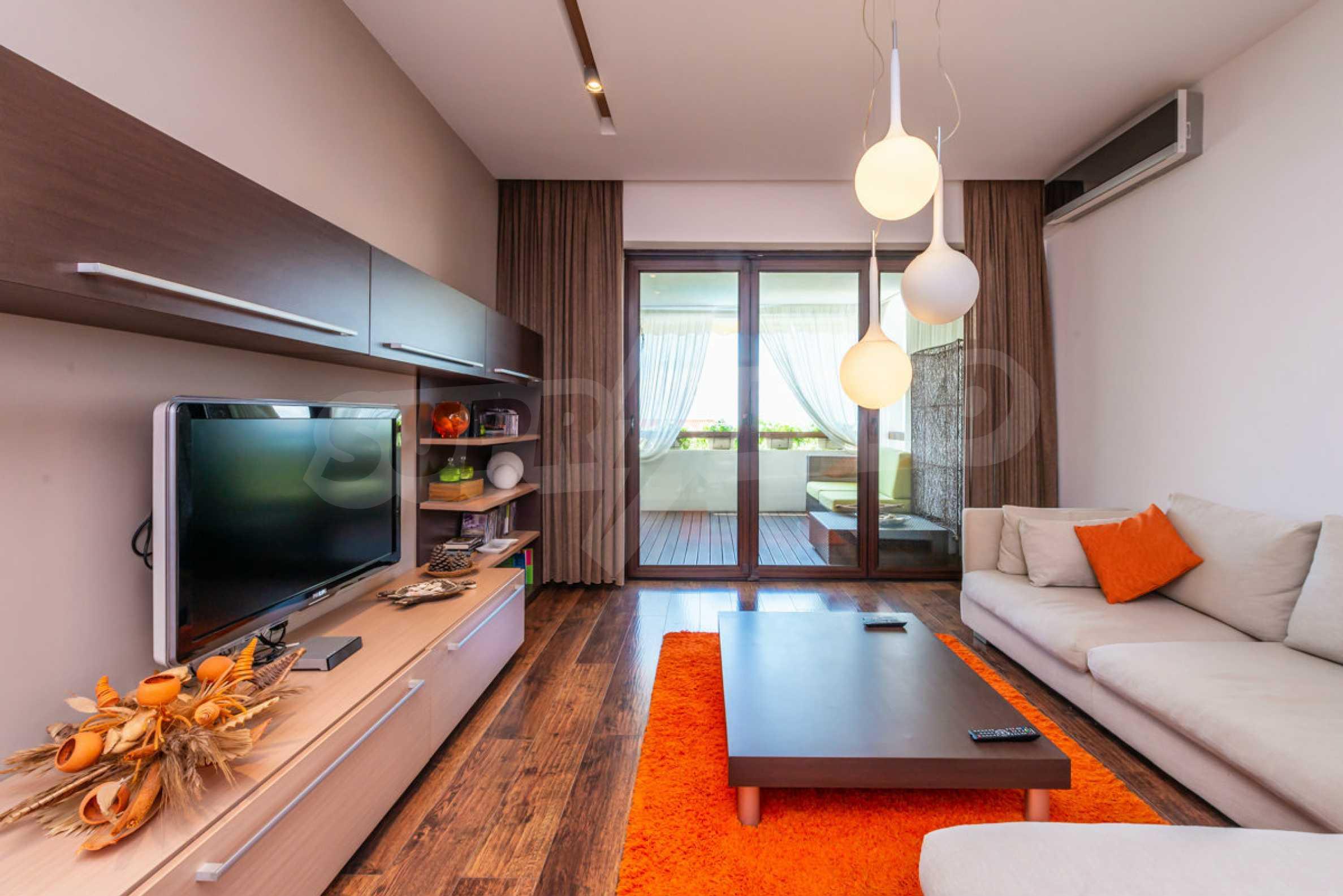 Luxus-Apartment mit einem Schlafzimmer mit spektakulärem Meerblick