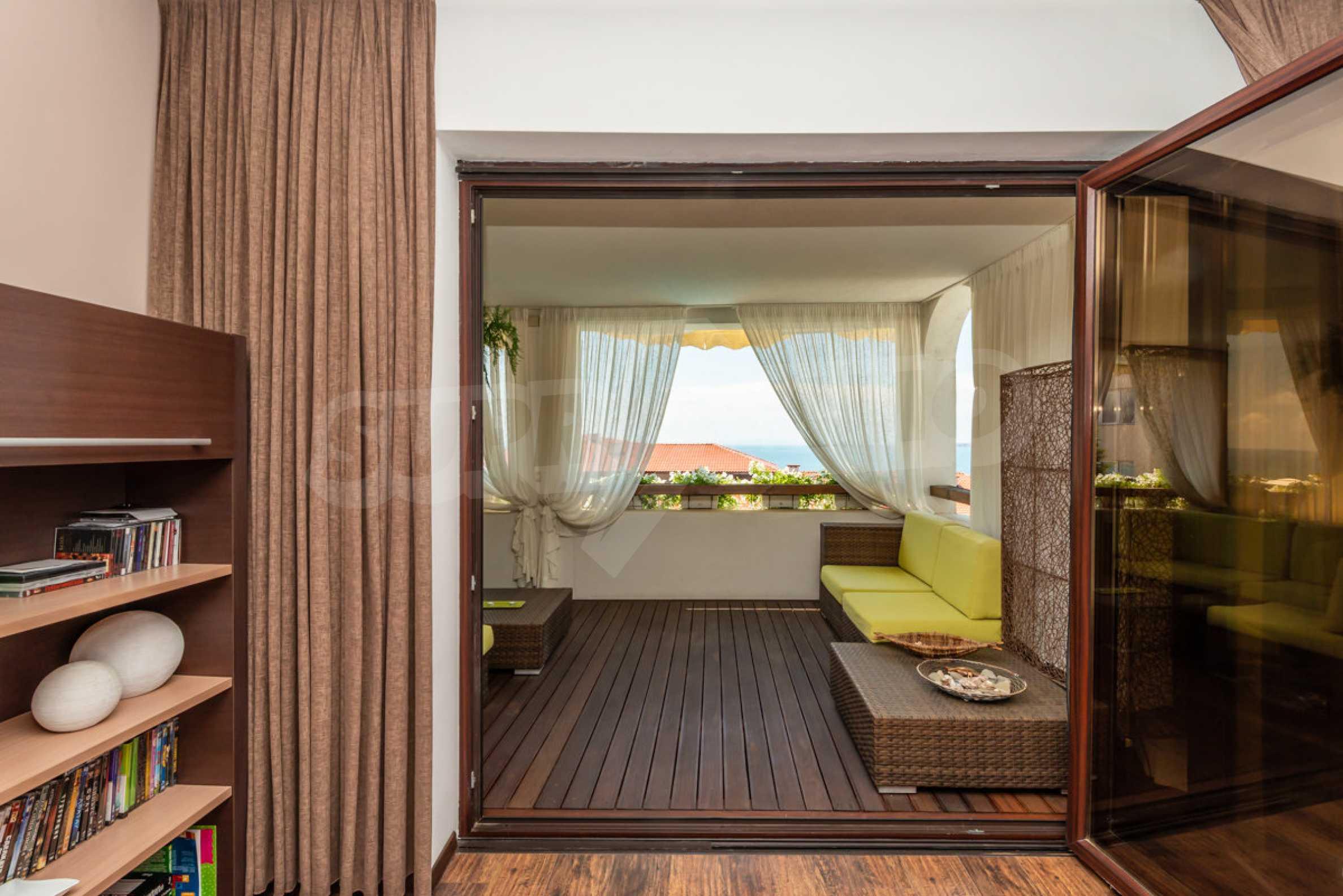 Luxus-Apartment mit einem Schlafzimmer mit spektakulärem Meerblick 13