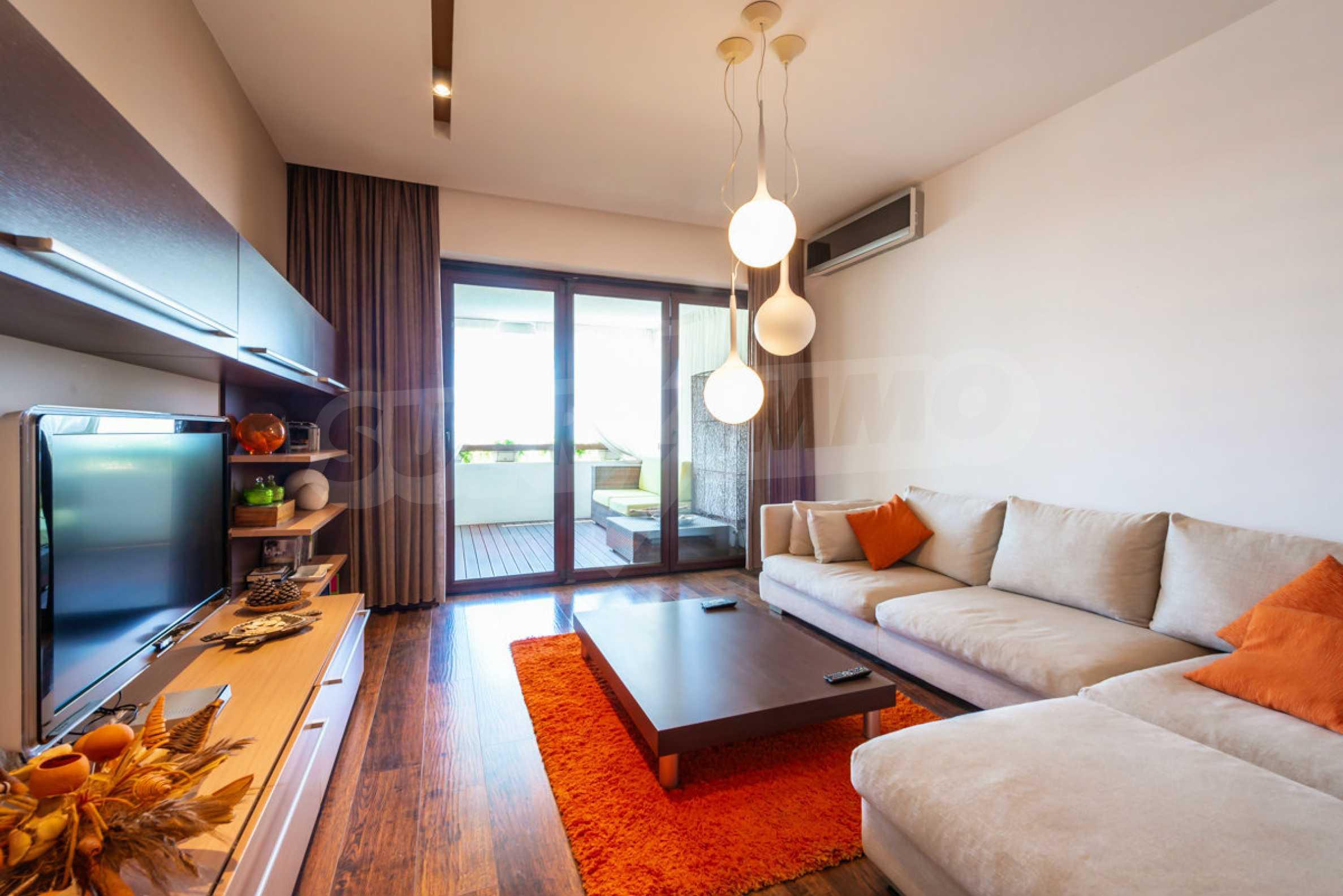 Luxus-Apartment mit einem Schlafzimmer mit spektakulärem Meerblick 1