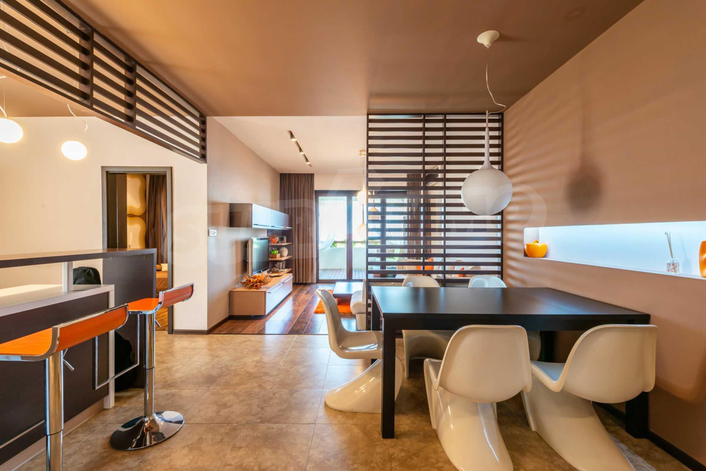 Luxus-Apartment mit einem Schlafzimmer mit spektakulärem Meerblick 5