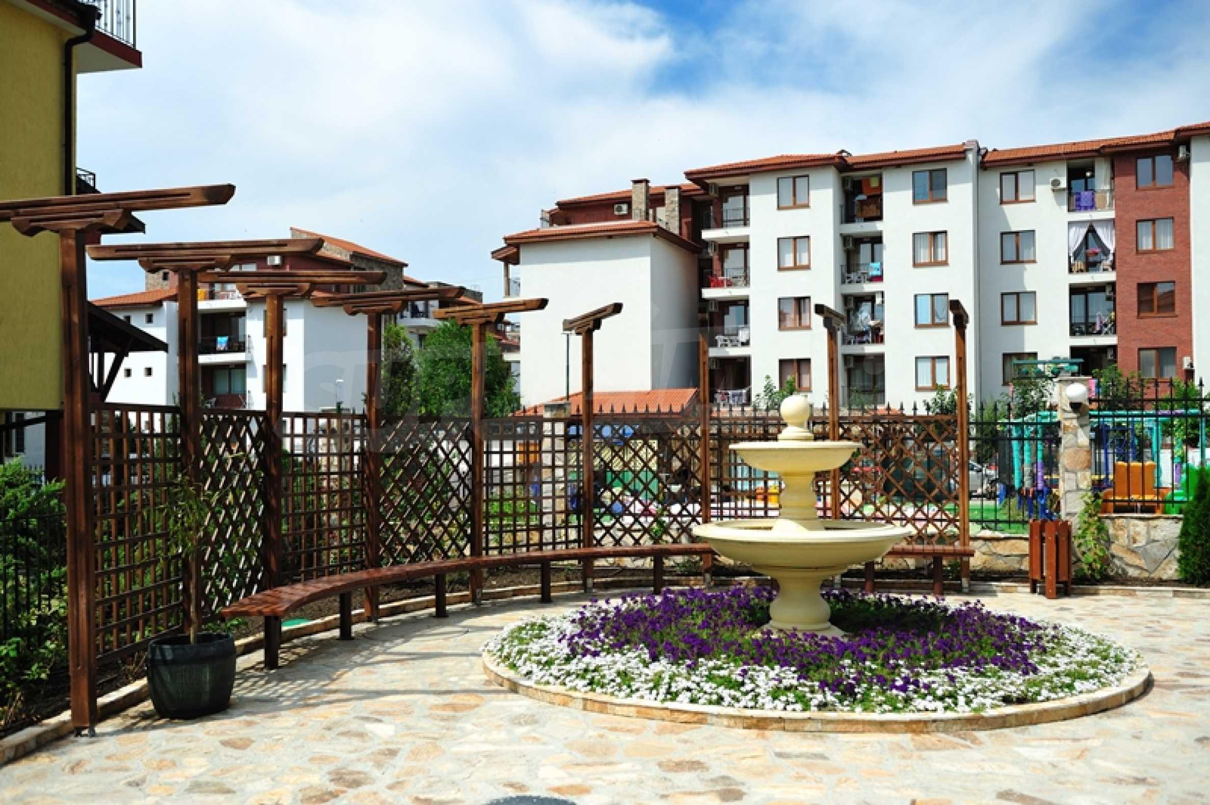 Apartments in einem fertigen Komplex in der Nähe des Strandes von Ravda, in der Nähe der Stadt Nessebar 3