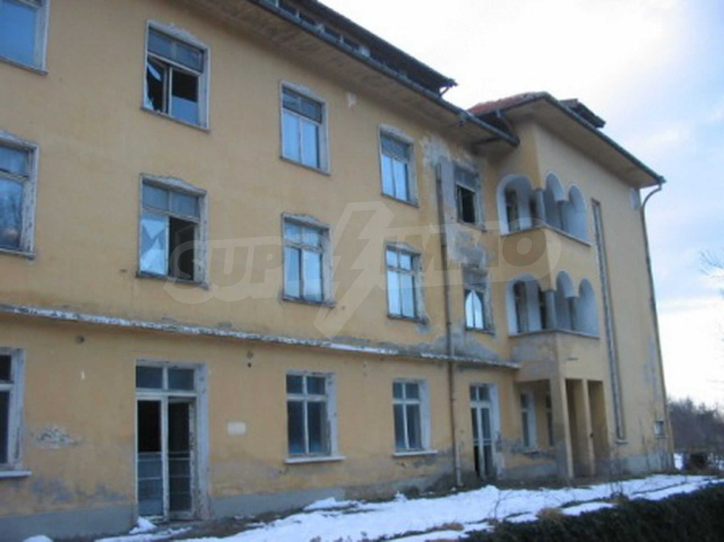 Hotel in need of complete renovation