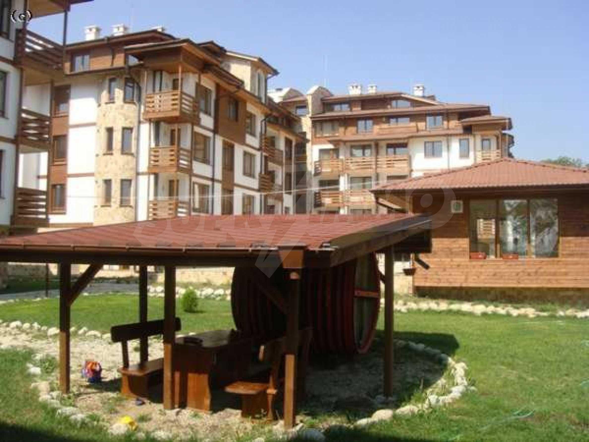 Уютен двустаен апартамент в Банско