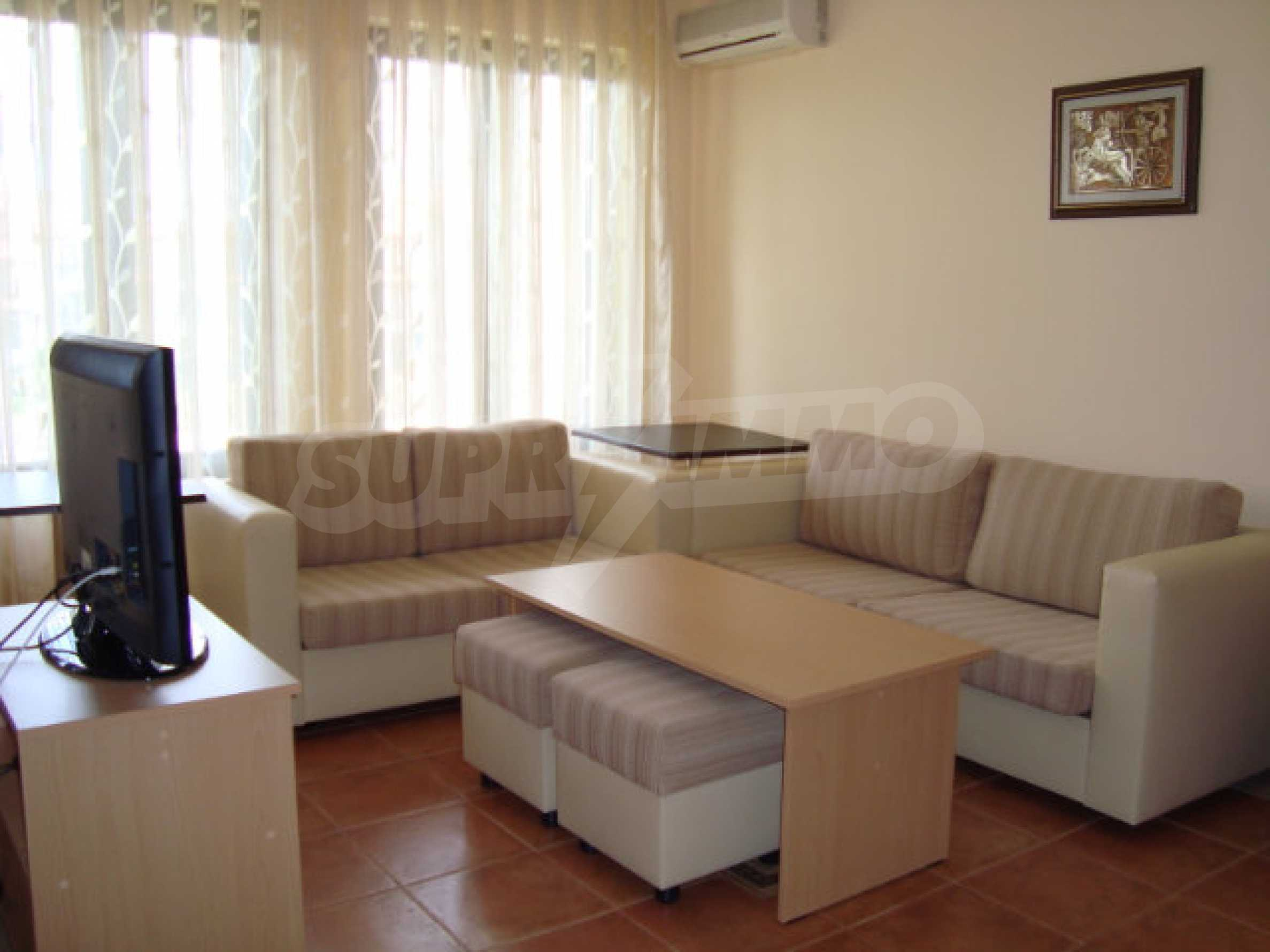 Two-bedroom apartment in Saint Nicholas complex in Chernomorets 7