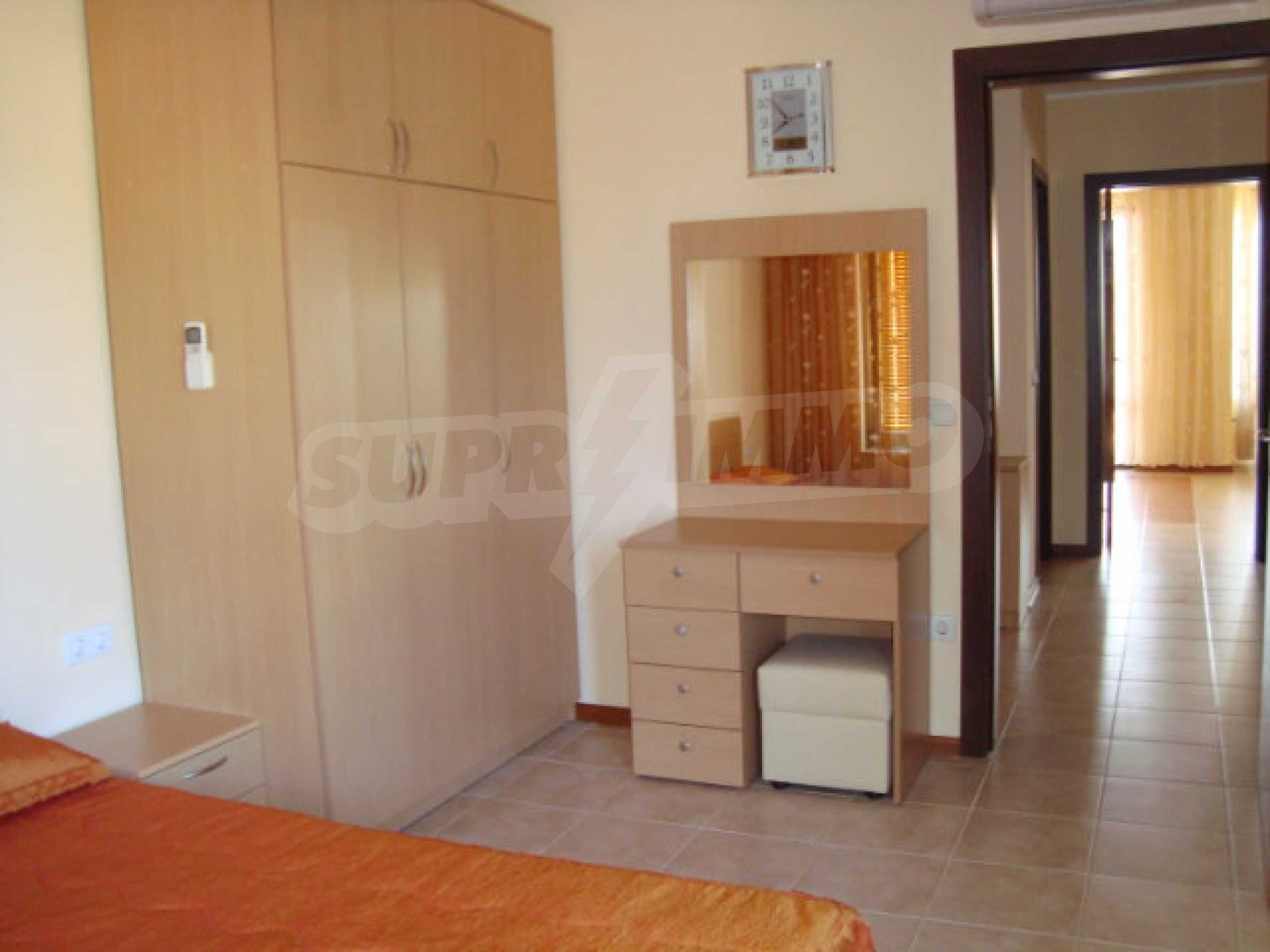 Two-bedroom apartment in Saint Nicholas complex in Chernomorets 12
