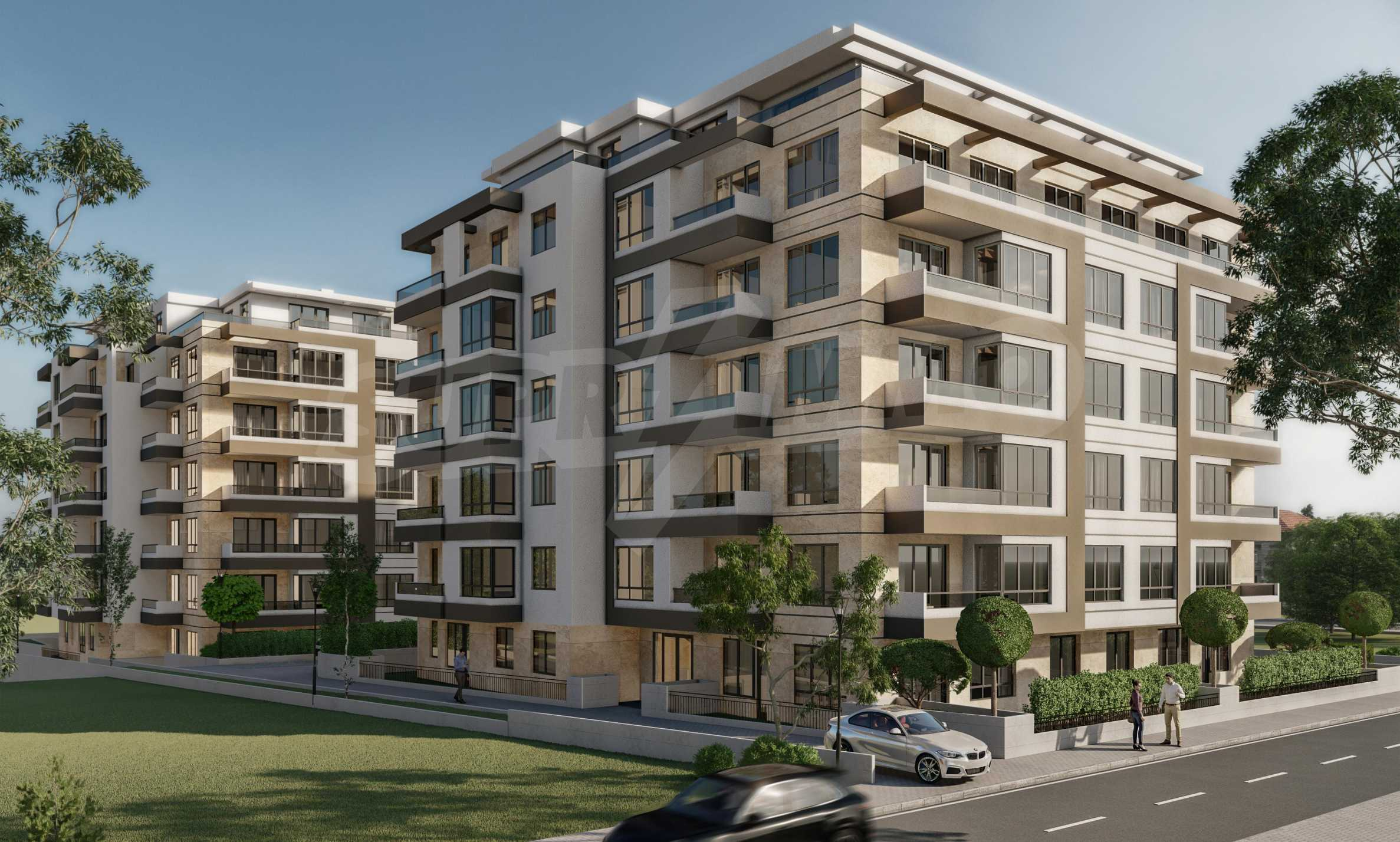 One bedroom apartment in a new complex near the metro station and Paradise Mall
