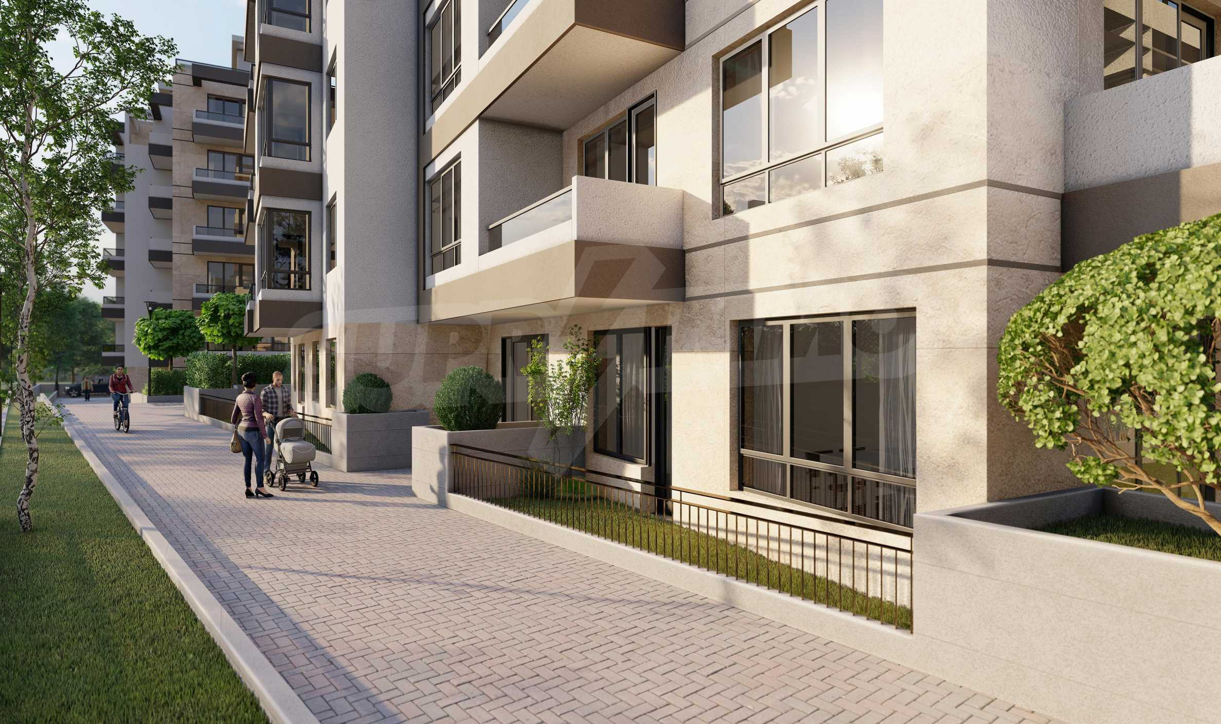 One bedroom apartment in a new complex near the metro station and Paradise Mall 11