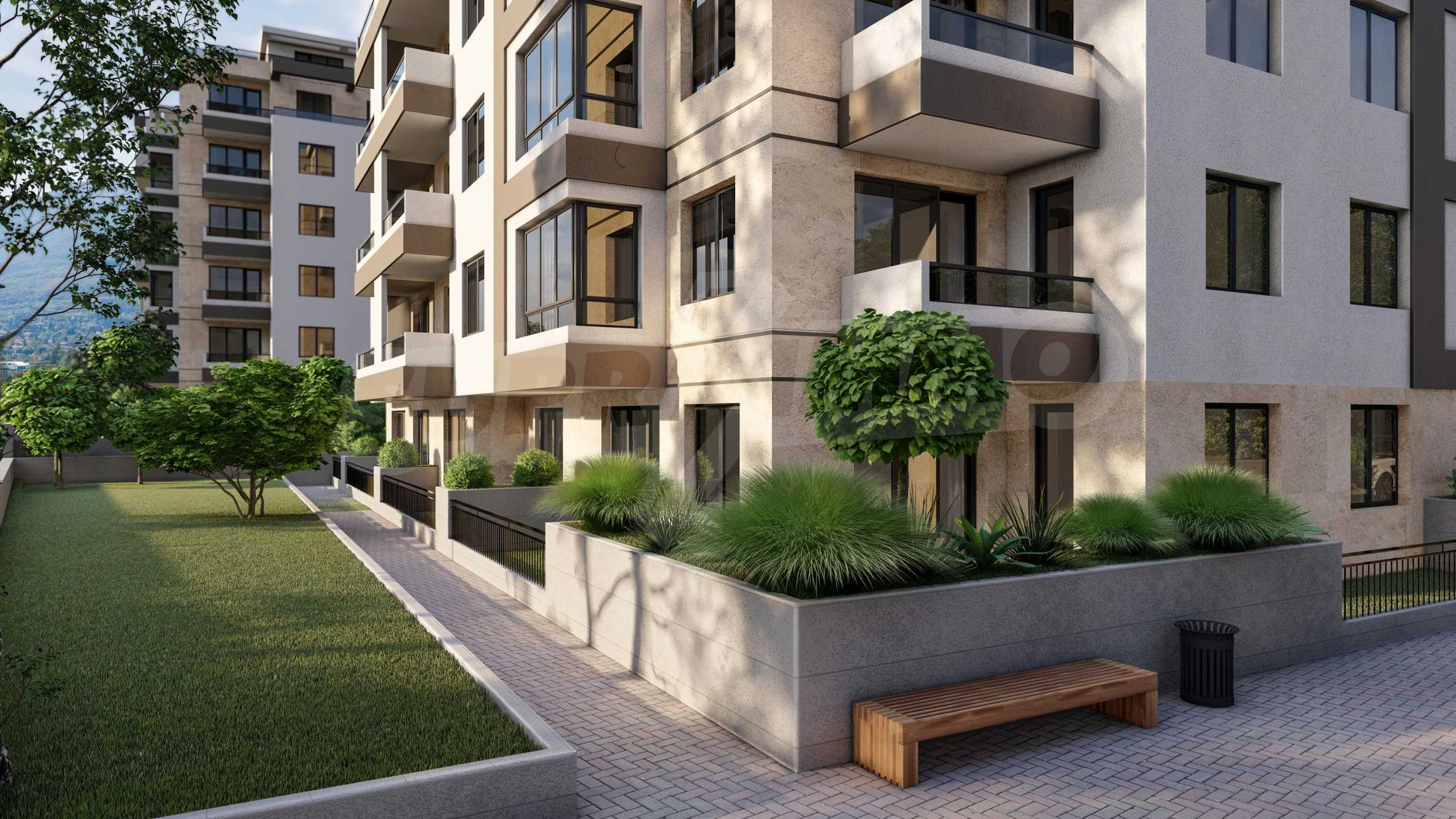 One bedroom apartment in a new complex near the metro station and Paradise Mall 12