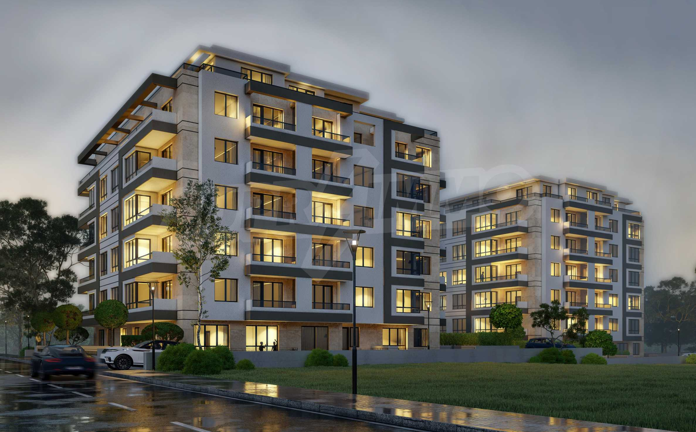 One bedroom apartment in a new complex near the metro station and Paradise Mall 15
