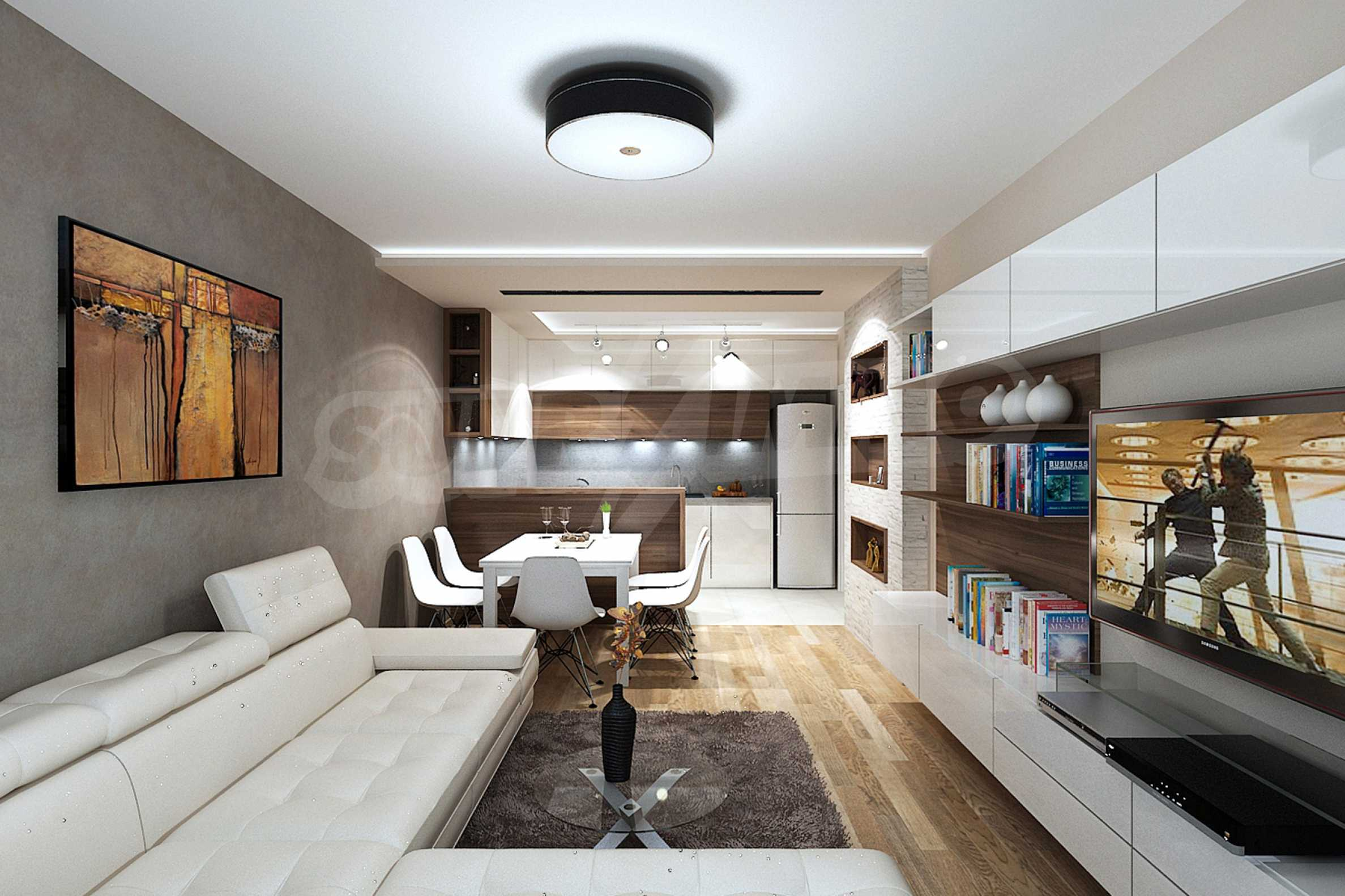 One bedroom apartment in a new complex near the metro station and Paradise Mall 18