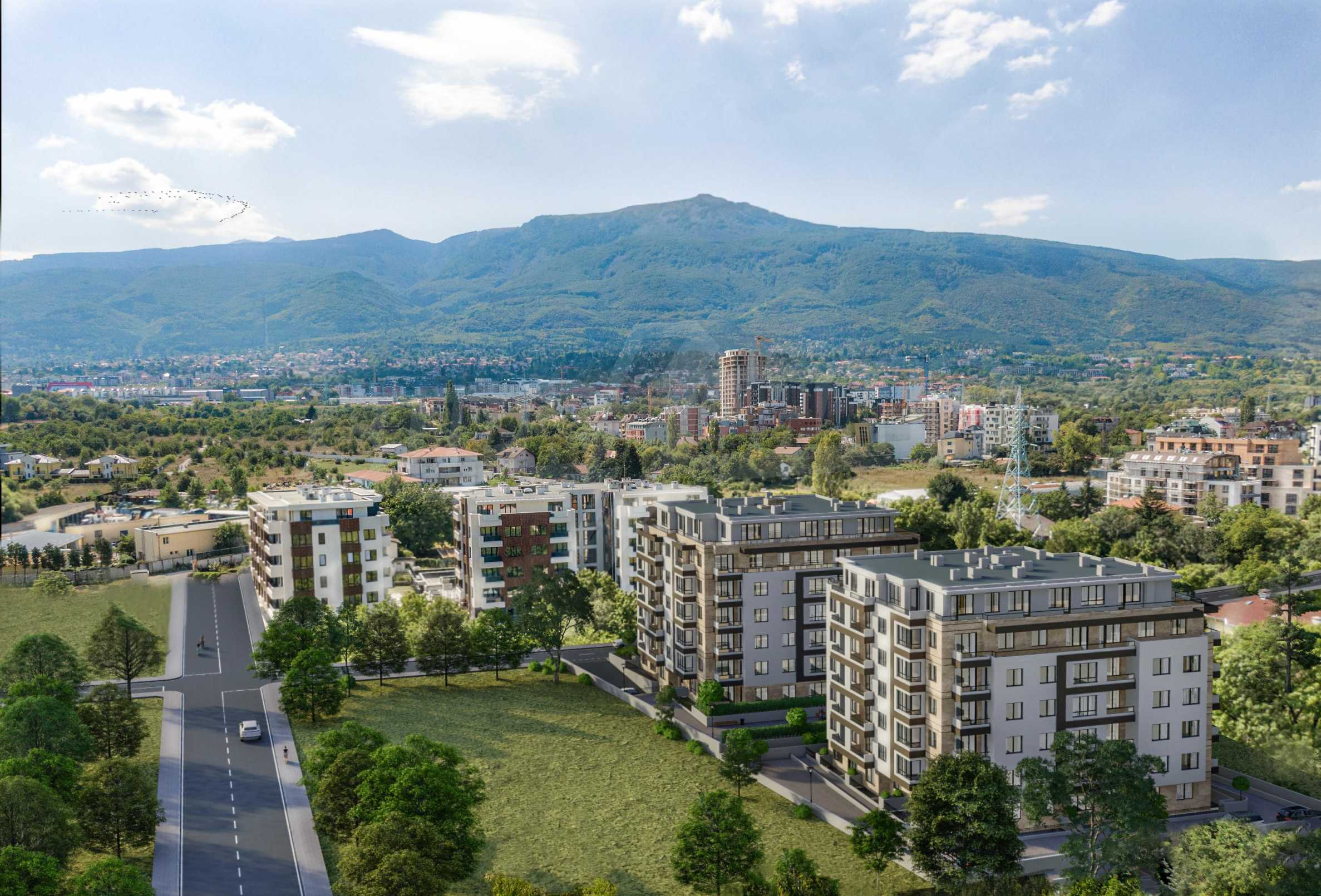 One bedroom apartment in a new complex near the metro station and Paradise Mall 3
