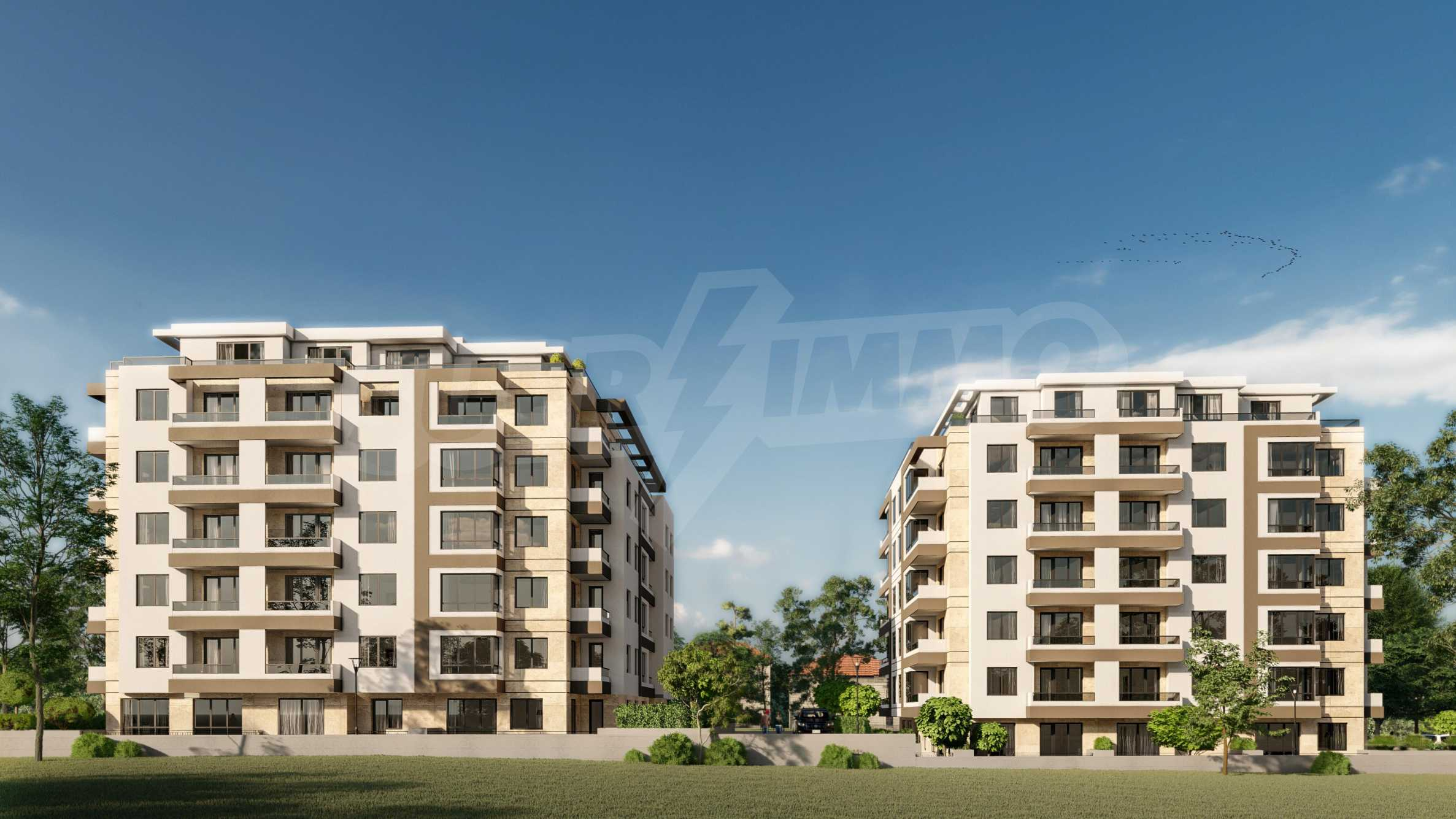 One bedroom apartment in a new complex near the metro station and Paradise Mall 4