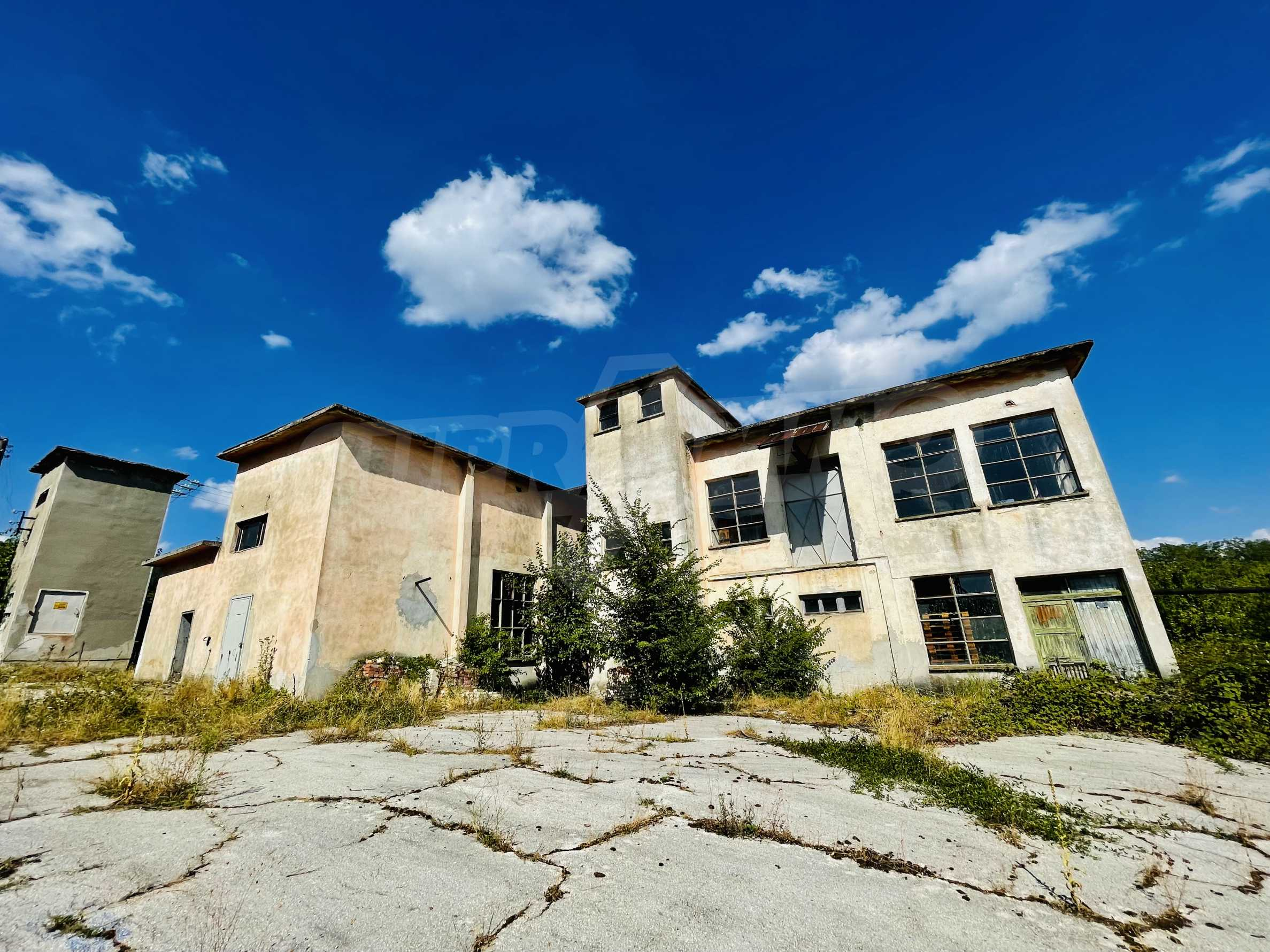 Fabrik in der Nähe von Veliko Tarnovo