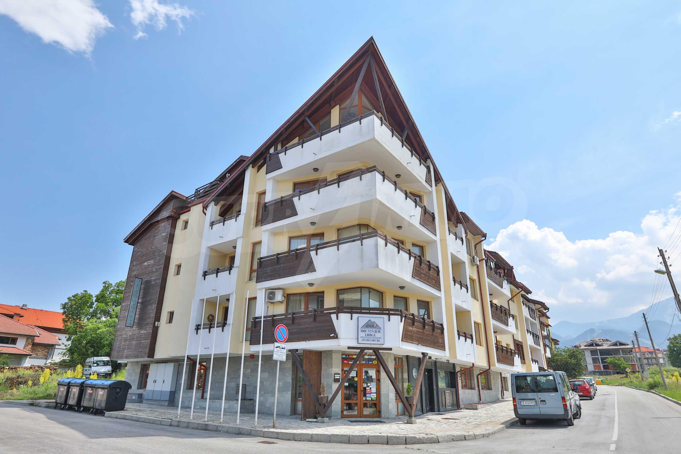 Обзаведен апартамент на метри от ски лифта в град Банско 15