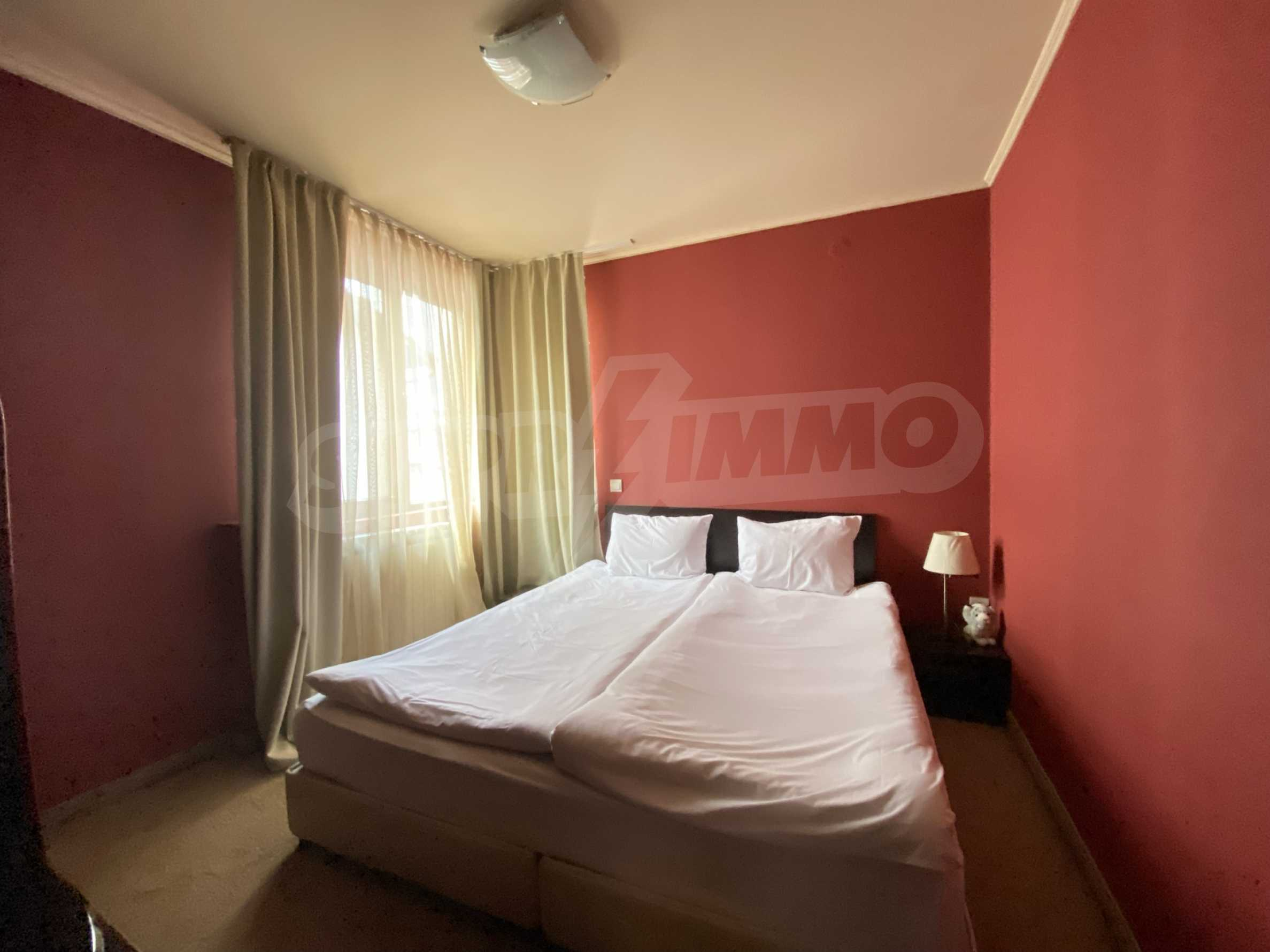 Обзаведен тристаен апартамент в луксозен комплекс Гранд Хотел Банско 13