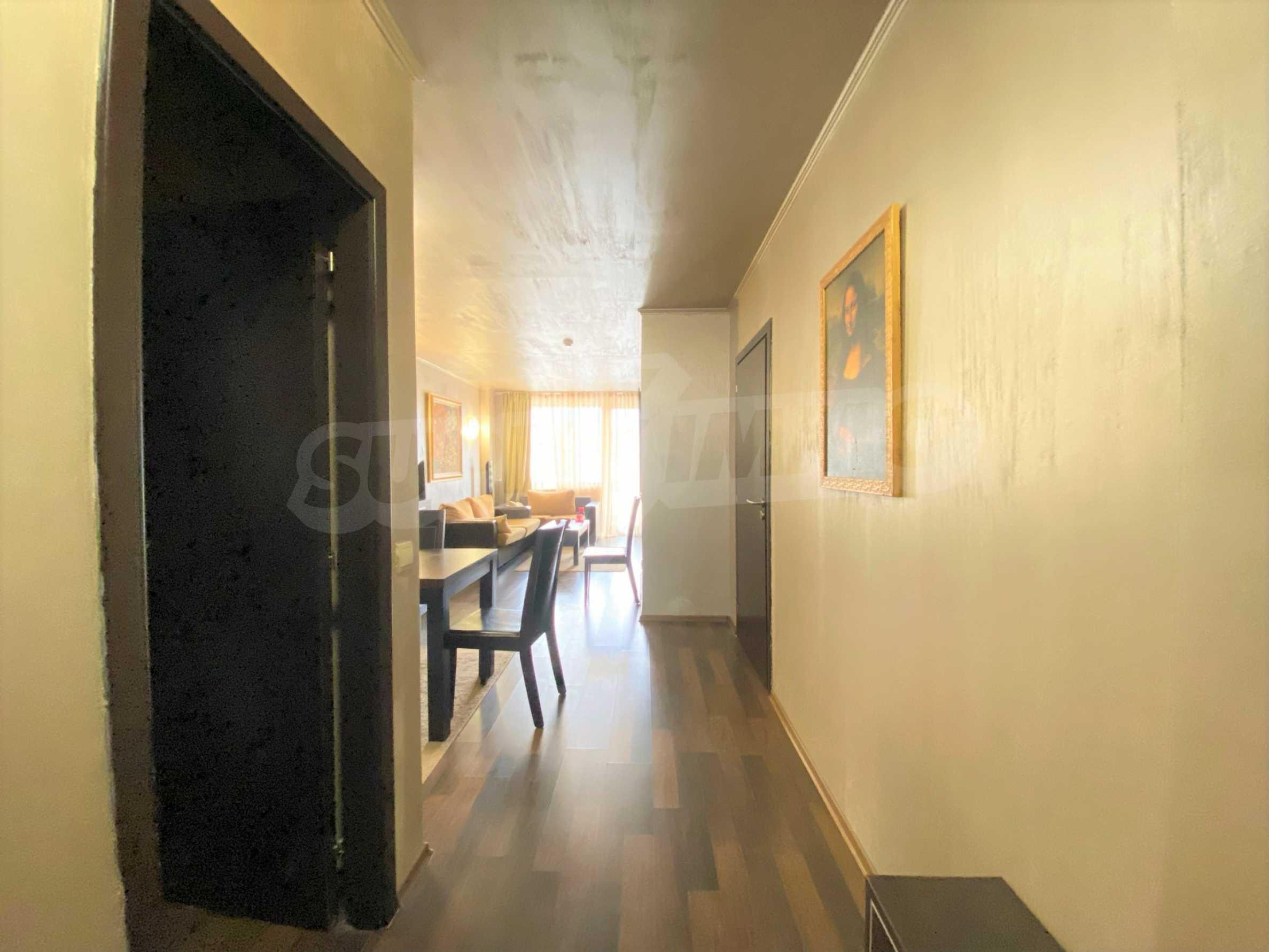 Обзаведен тристаен апартамент в луксозен комплекс Гранд Хотел Банско 6