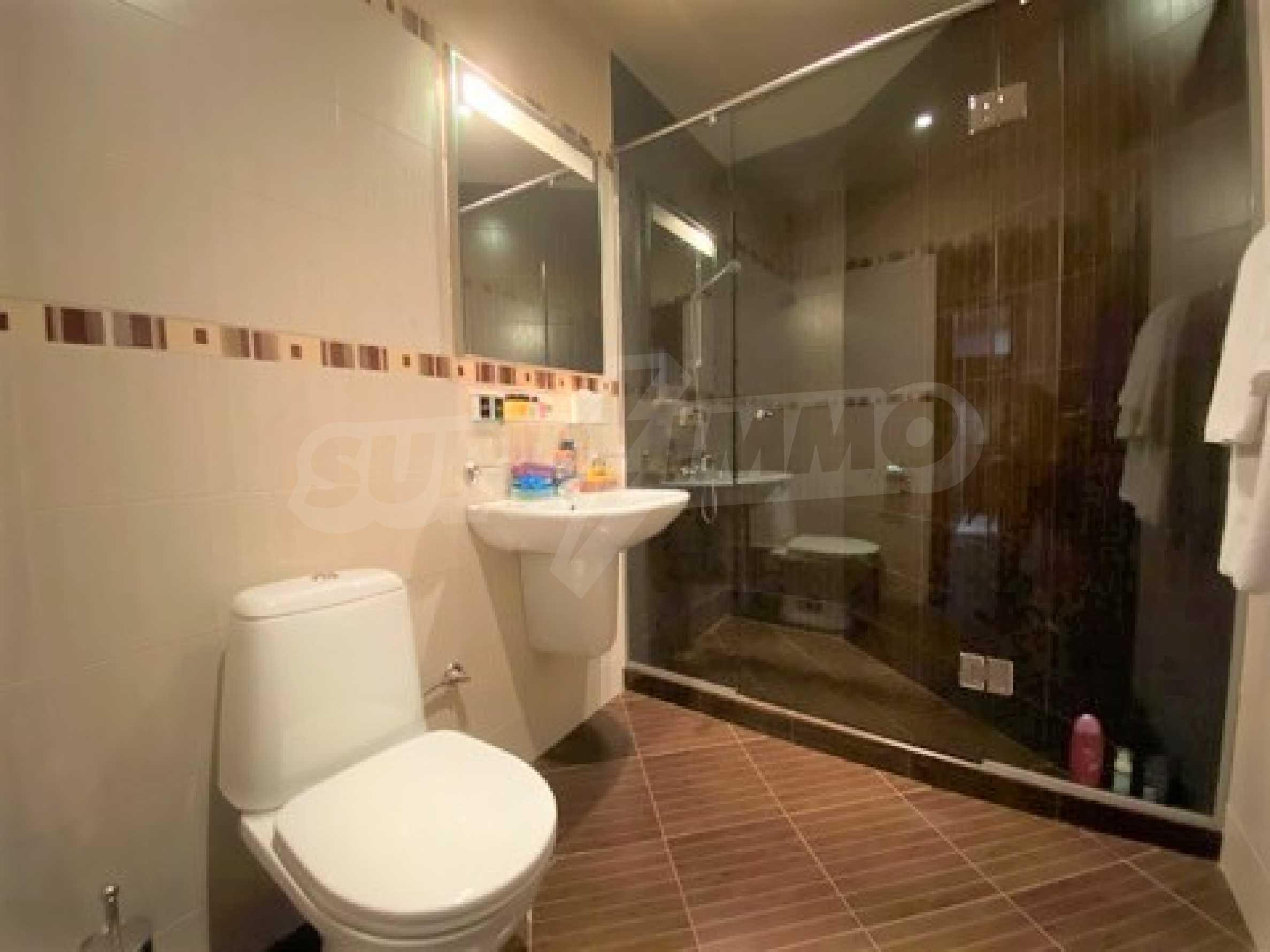 Обзаведен тристаен апартамент в луксозен комплекс Гранд Хотел Банско 7