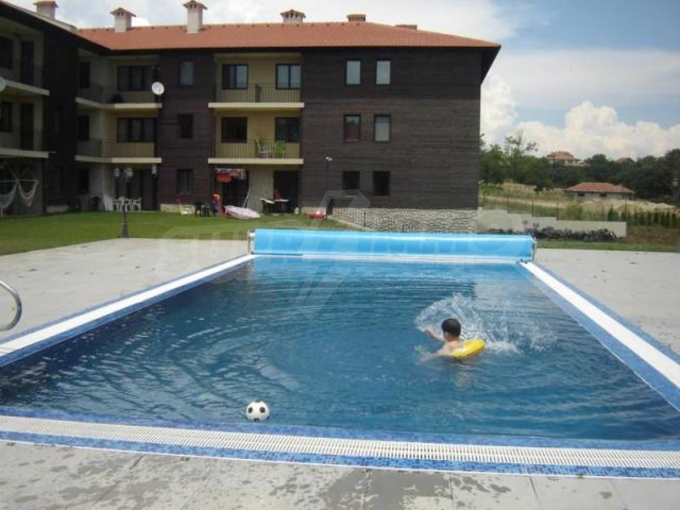 Большая квартира в закрытом комплексе с бассейном в эко-районе недалеко от Варны 12