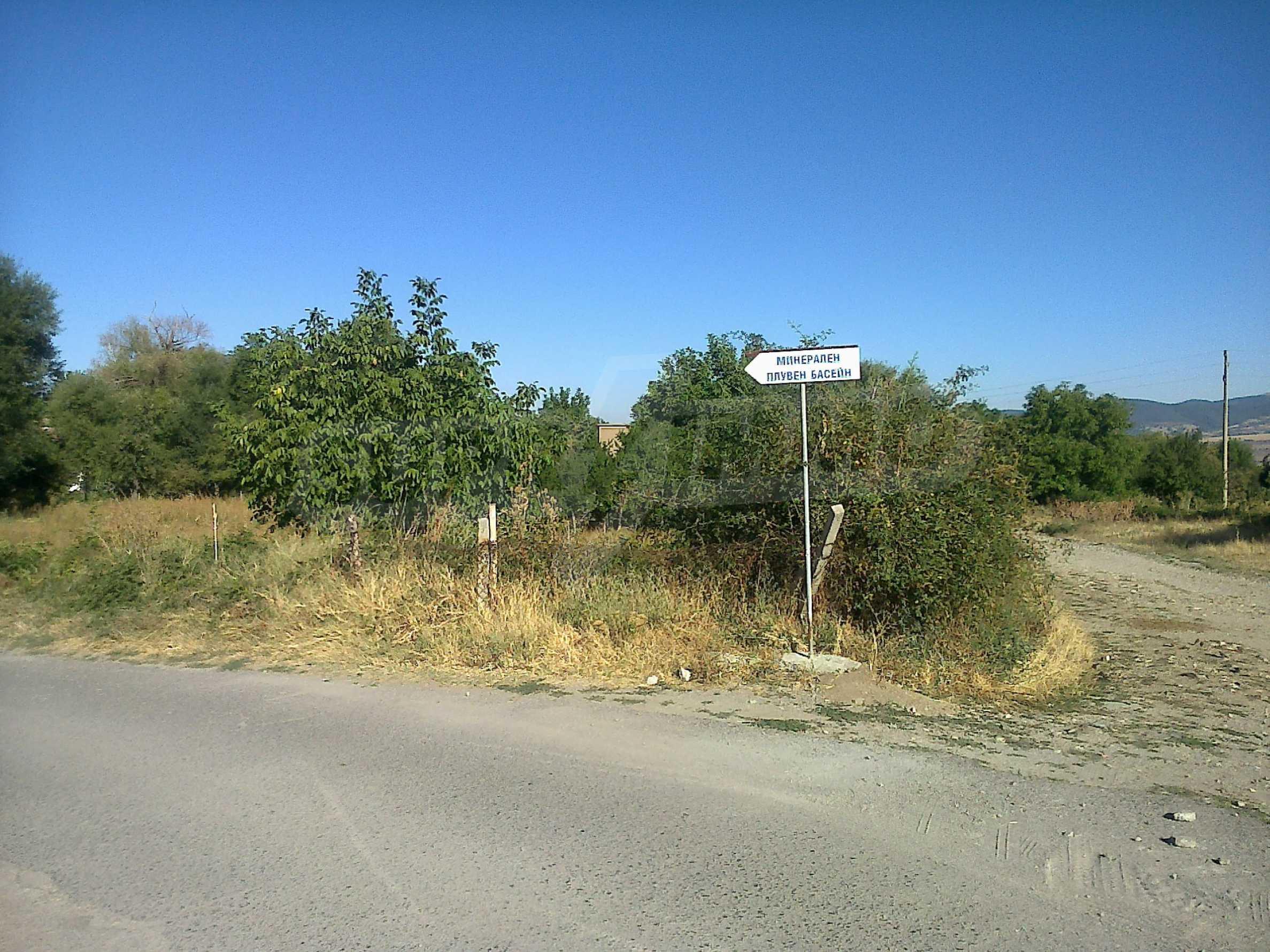 Geregeltes Grundstück für Geschäftsimmobilien in der Nähe einer Mineralquelle in Sapareva Banya