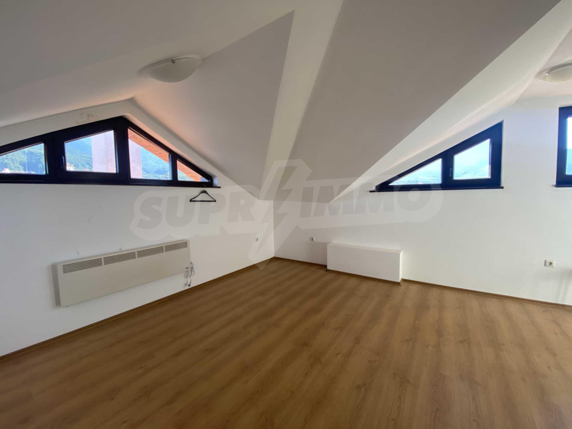 Необзаведен едностаен апартамент за продажба в СПА комплекс в Банско 1