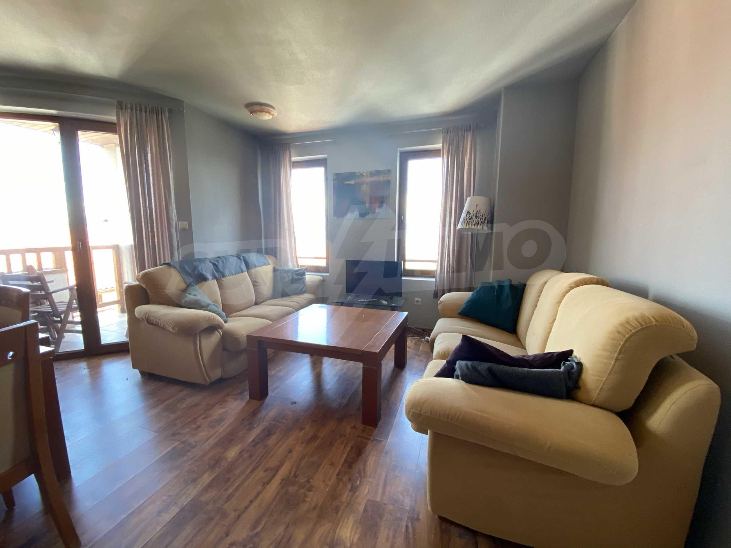 Апартамент с три спални с уникална панорамна гледка към Пирин планина в луксозен комплекс 3