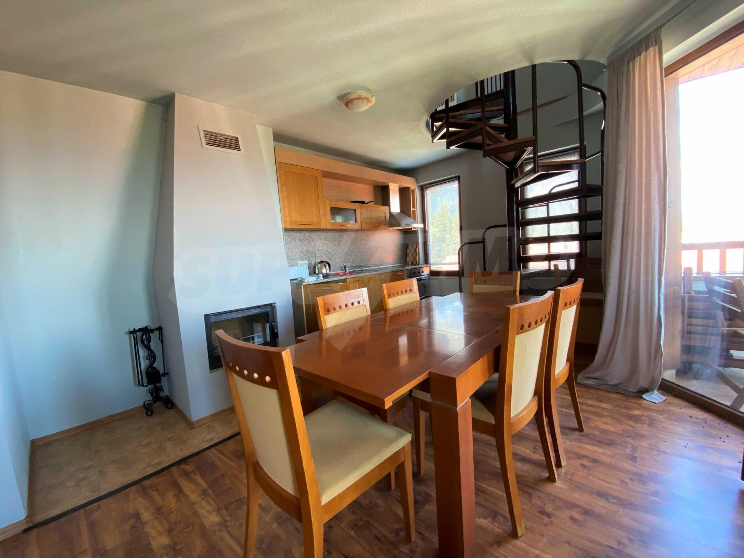 Апартамент с три спални с уникална панорамна гледка към Пирин планина в луксозен комплекс 5