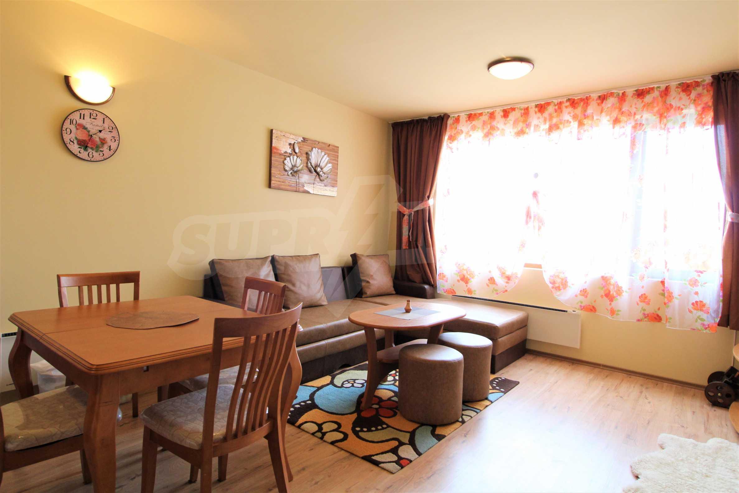 Нов едностаен апартамент в ски курорта Банско